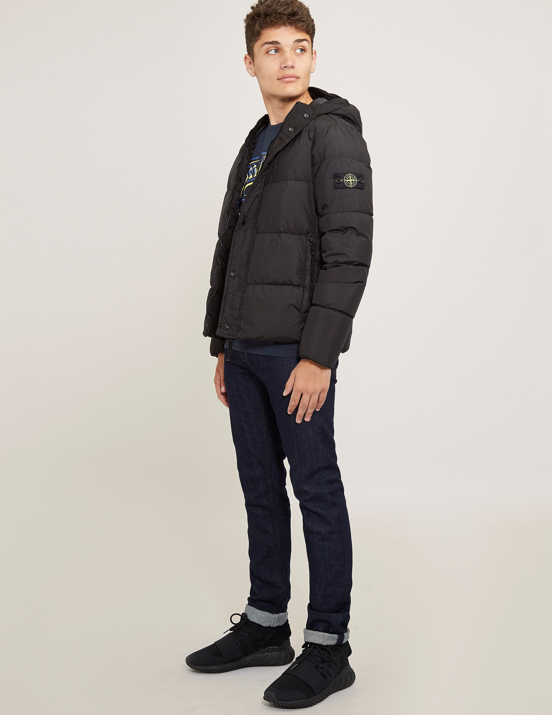 Stone Island Hooded Padded Jacket