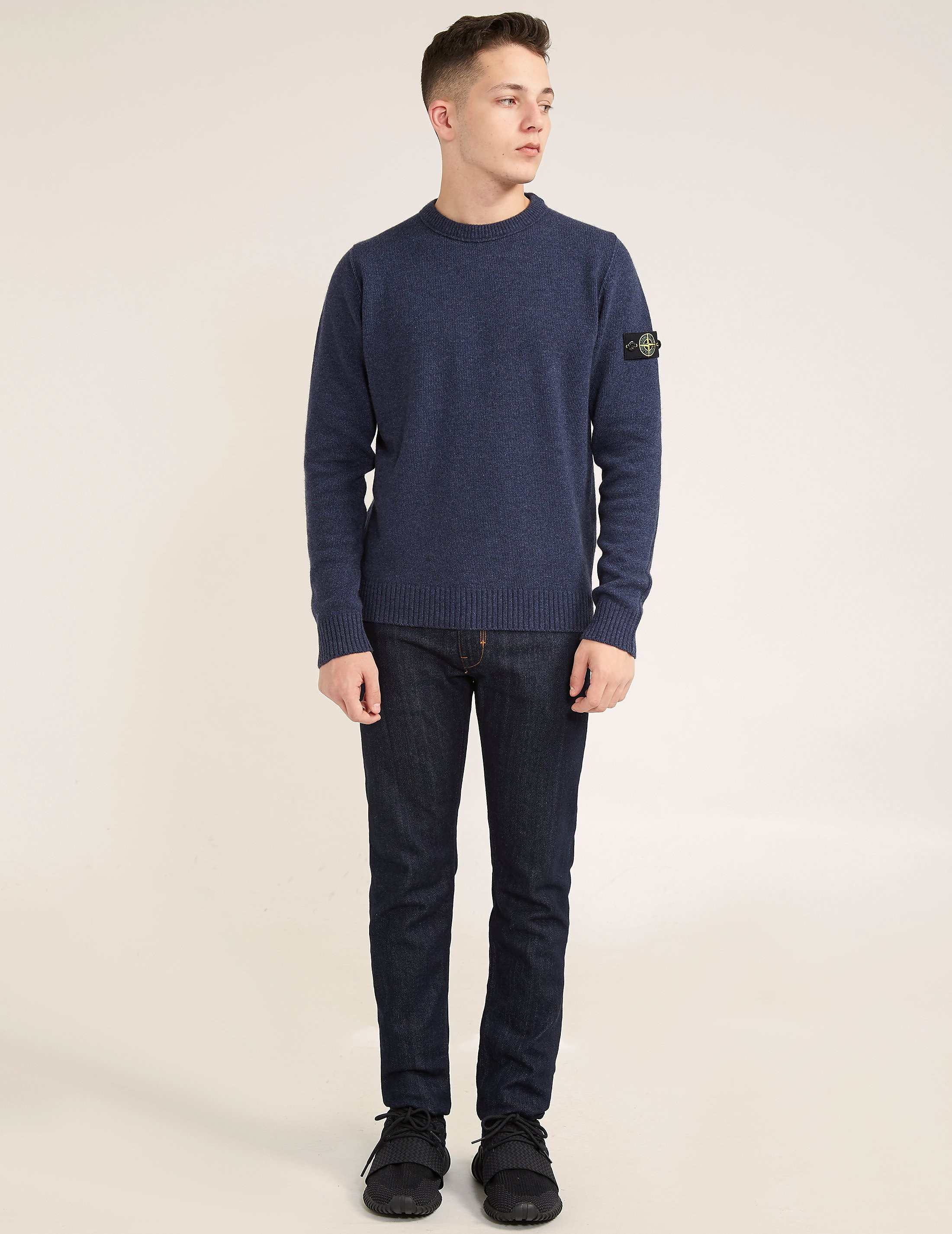Stone Island Wool Knitted Jumper
