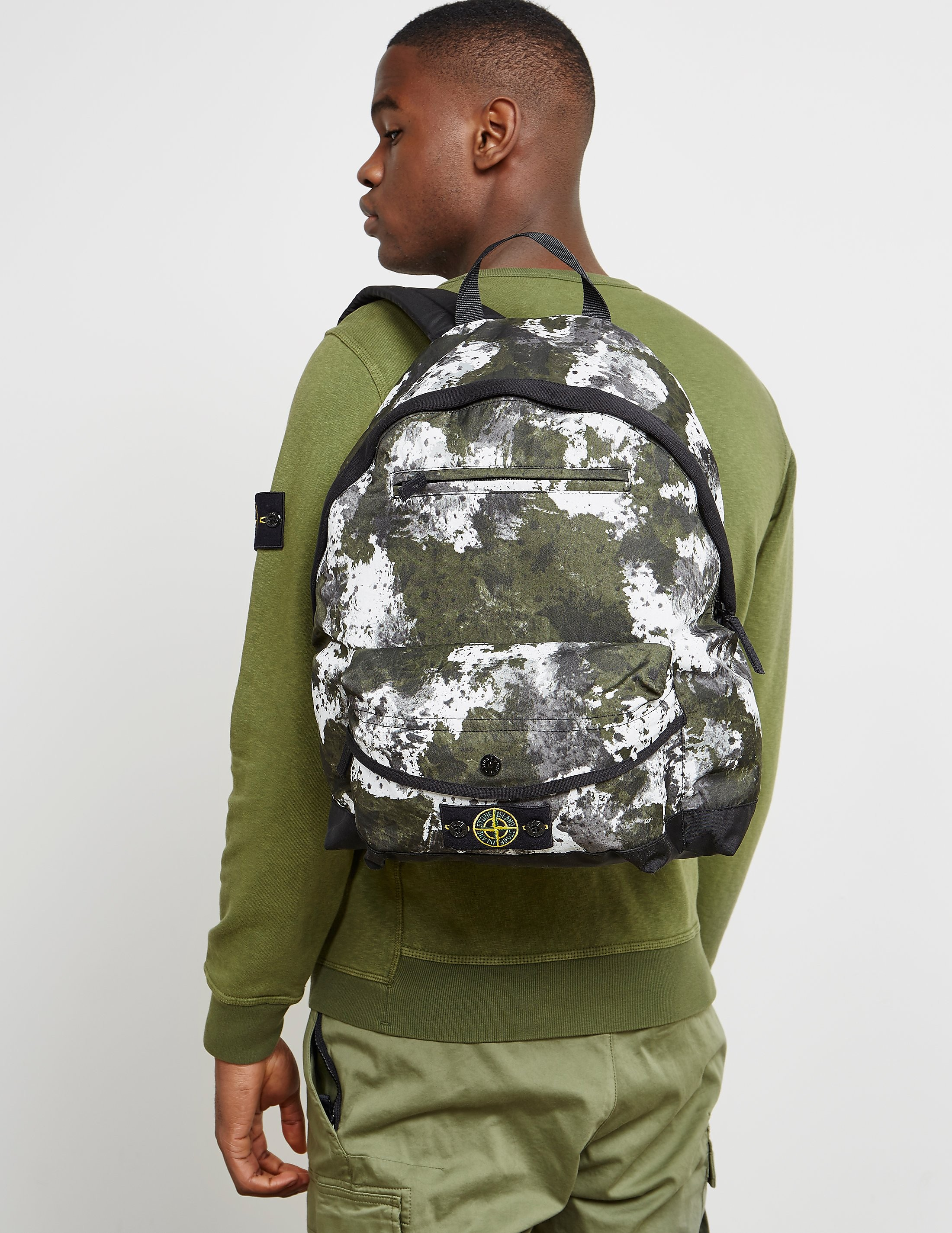 Stone Island Camo Backpack