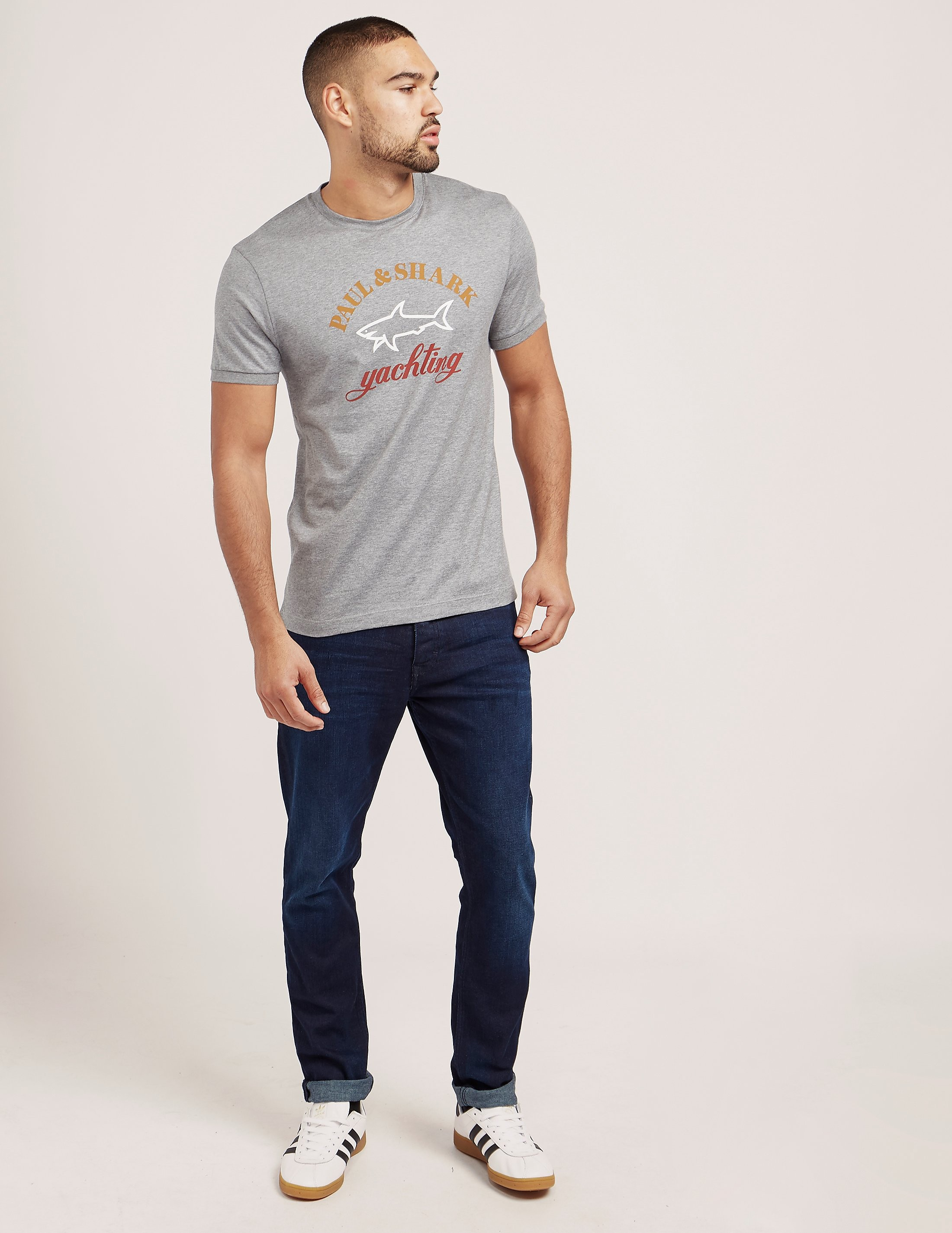 Paul and Shark Branded Short Sleeve T-Shirt