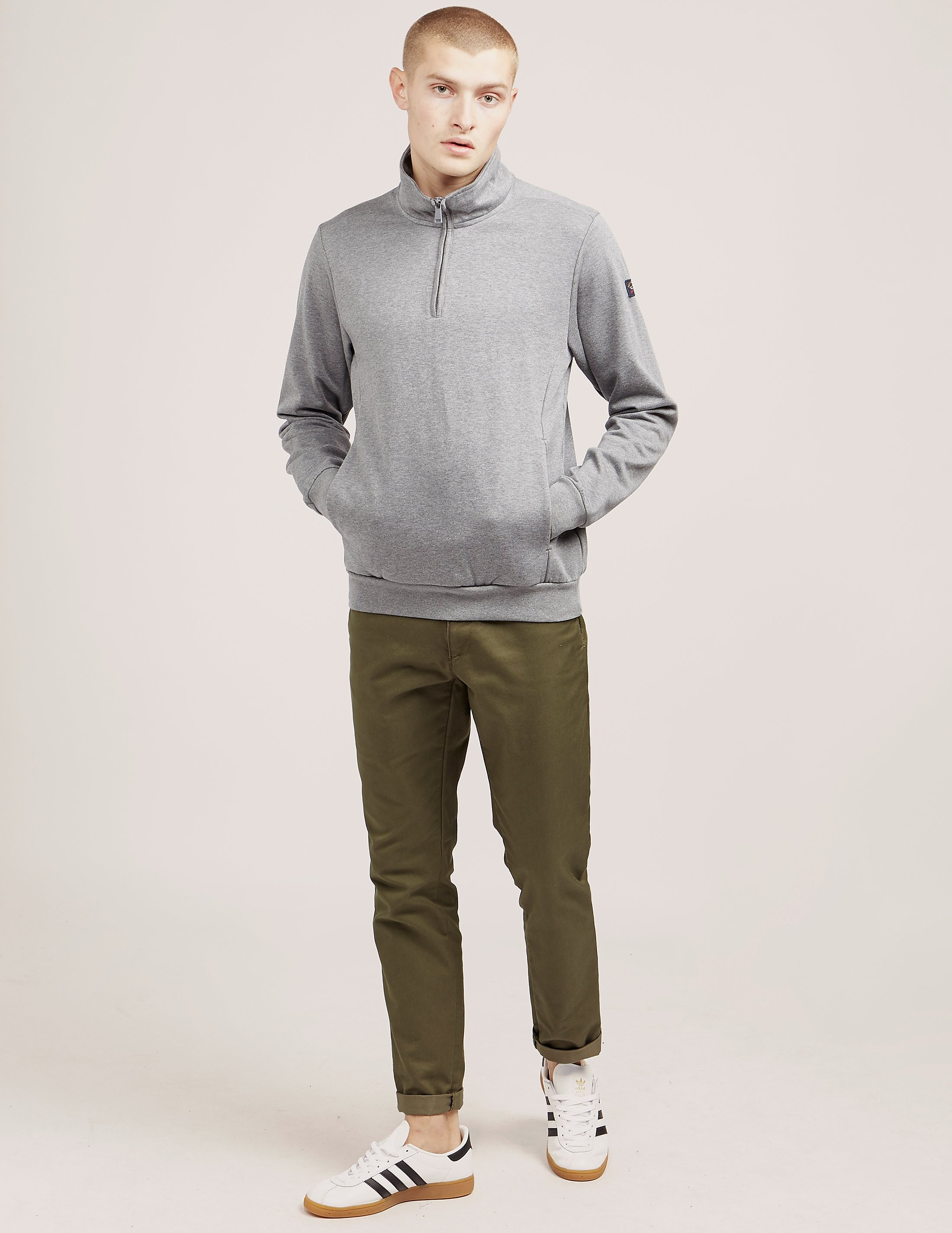 Paul and Shark Half Zip Sweatshirt