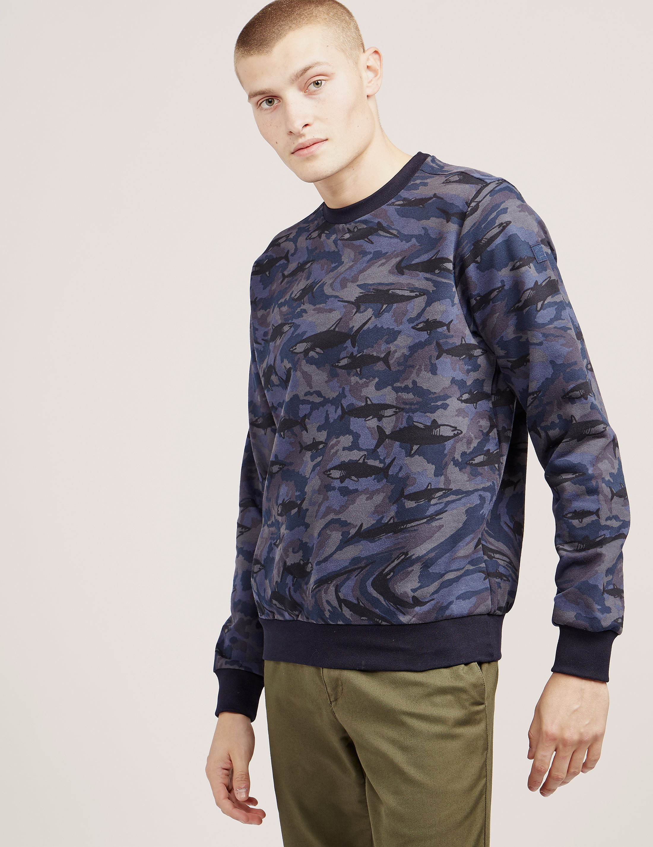 Paul and Shark Camoflauge Shark Sweatshirt