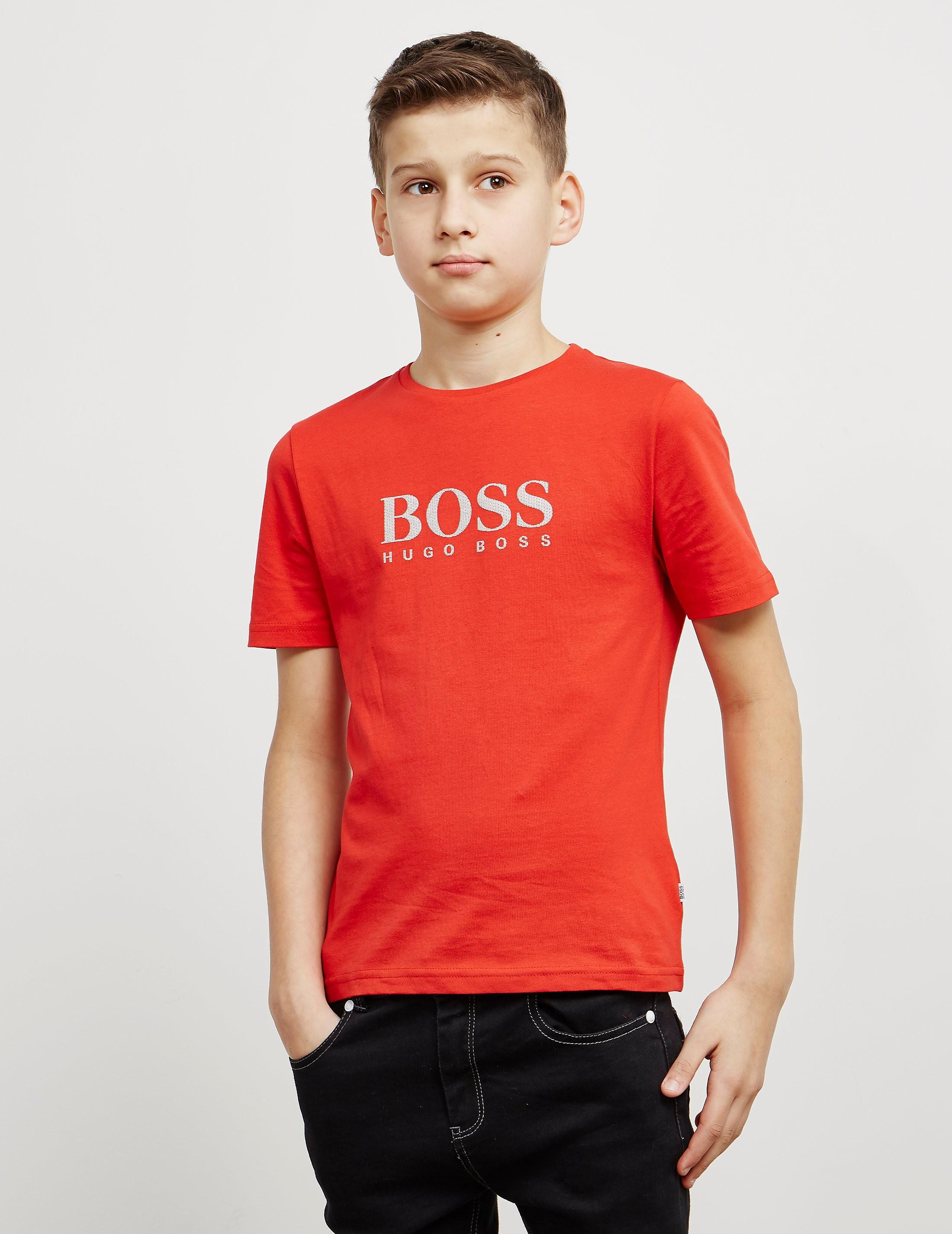 BOSS Large Logo Short Sleeve T-Shirt