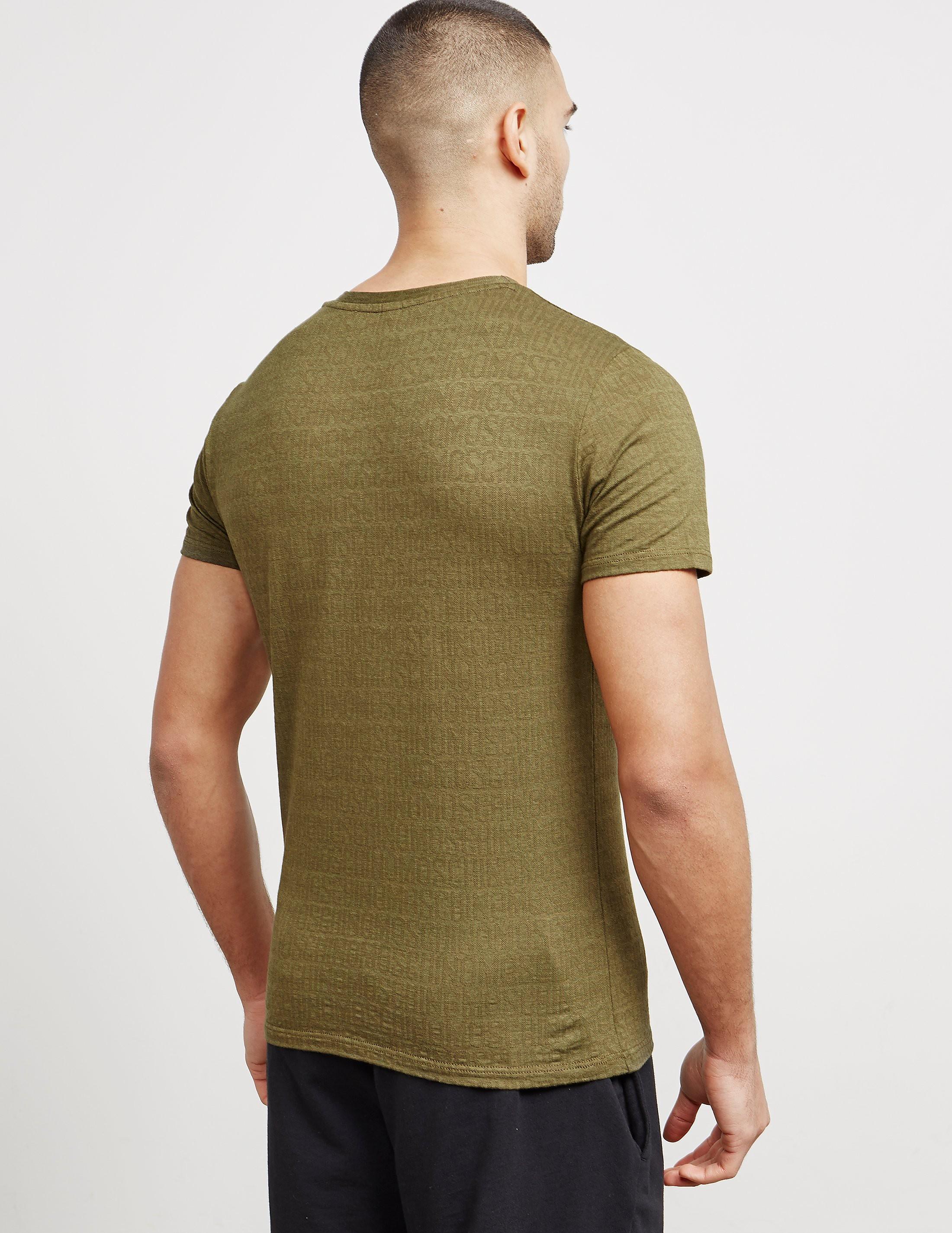 Love Moschino Mosu Logo Short Sleeve T-Shirt