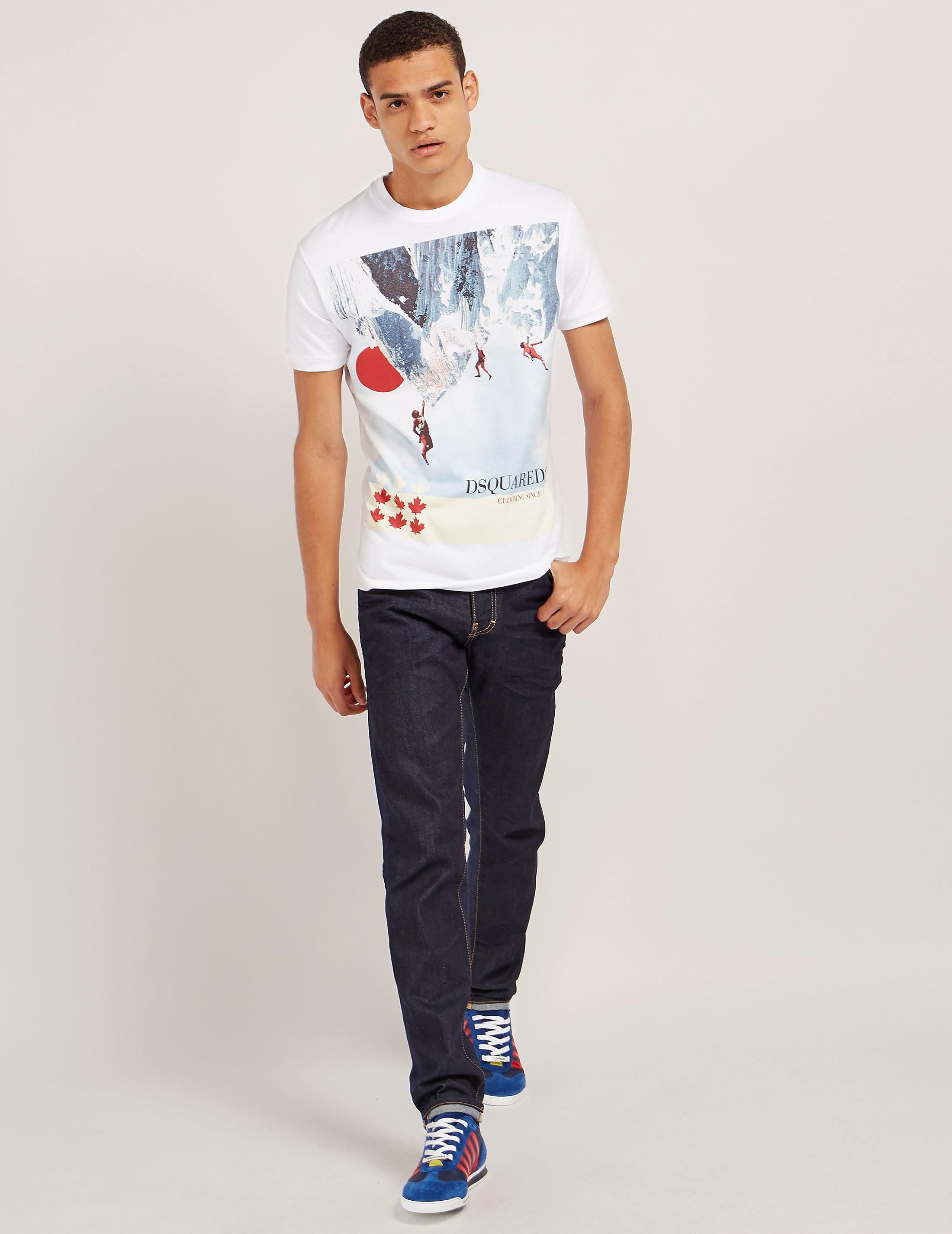 DSQUARED2 Expolorer Short Sleeve T-Shirt