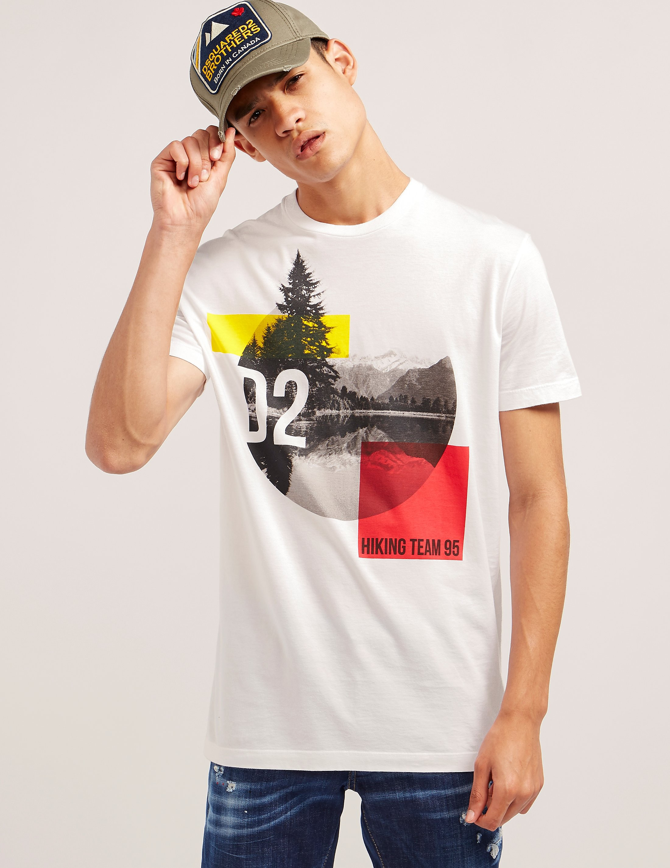DSQUARED2 Hiking Team Short Sleeve T-Shirt