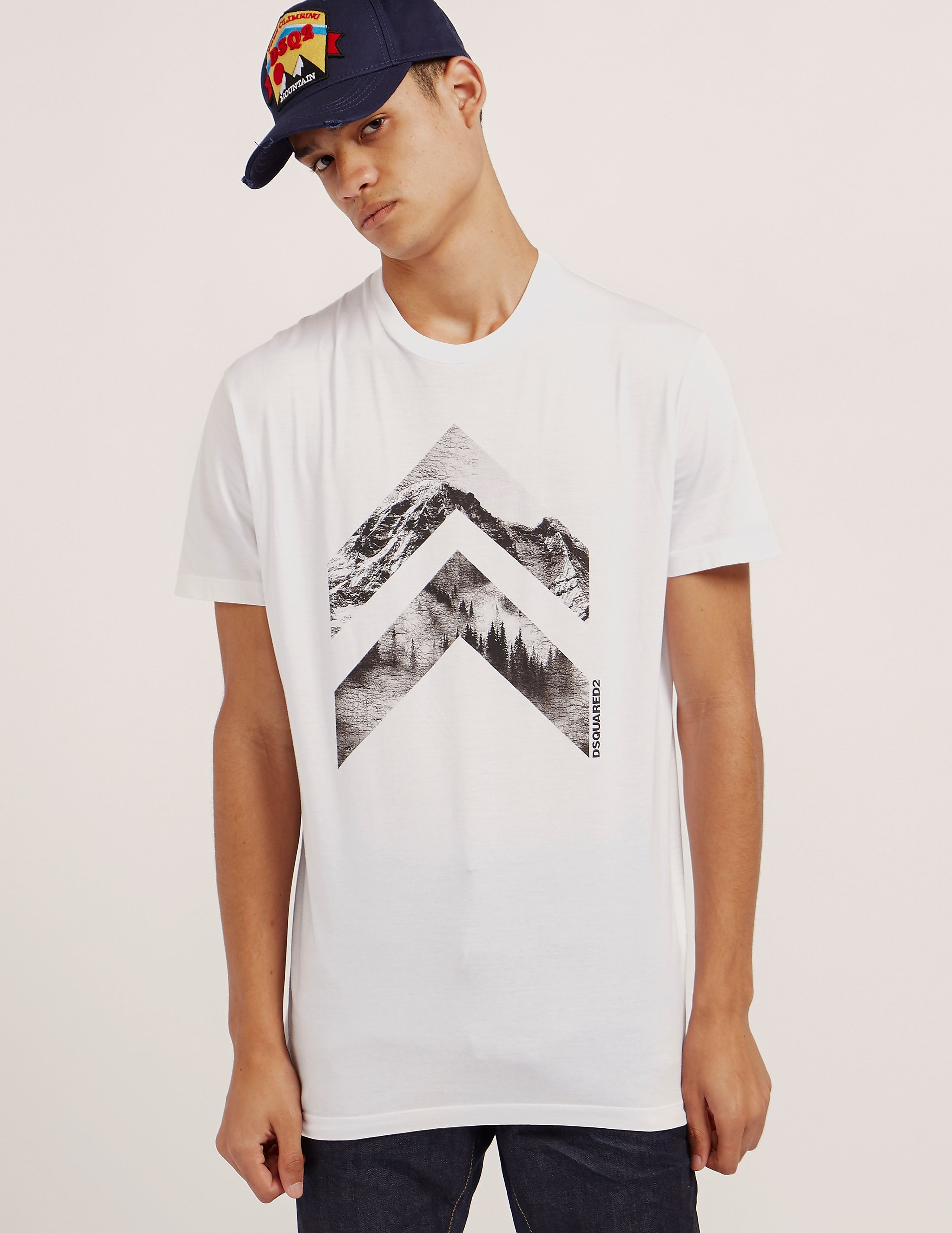 DSQUARED2 Twin Arrow Short Sleeve T-Shirt