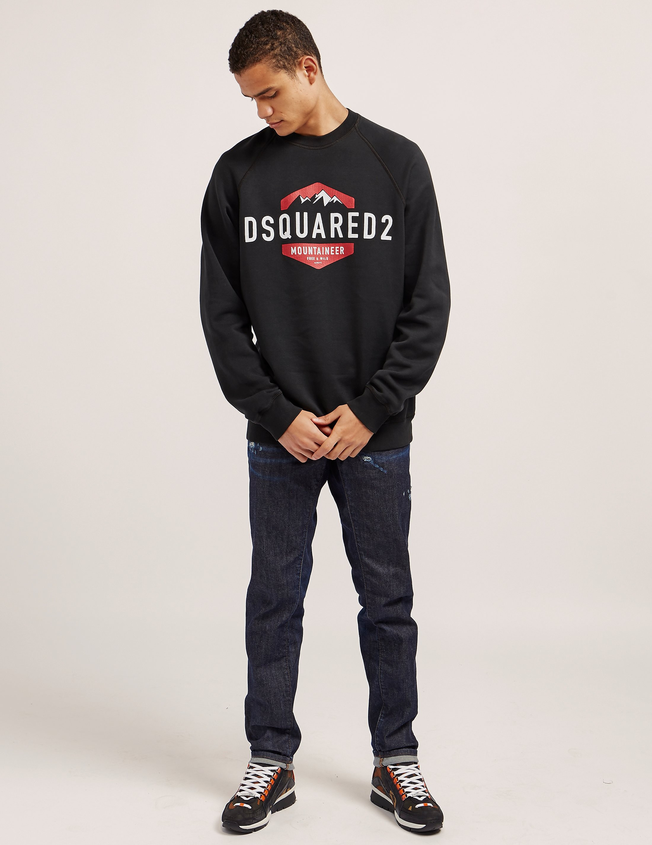 DSQUARED2 Mountaineer Sweatshirt