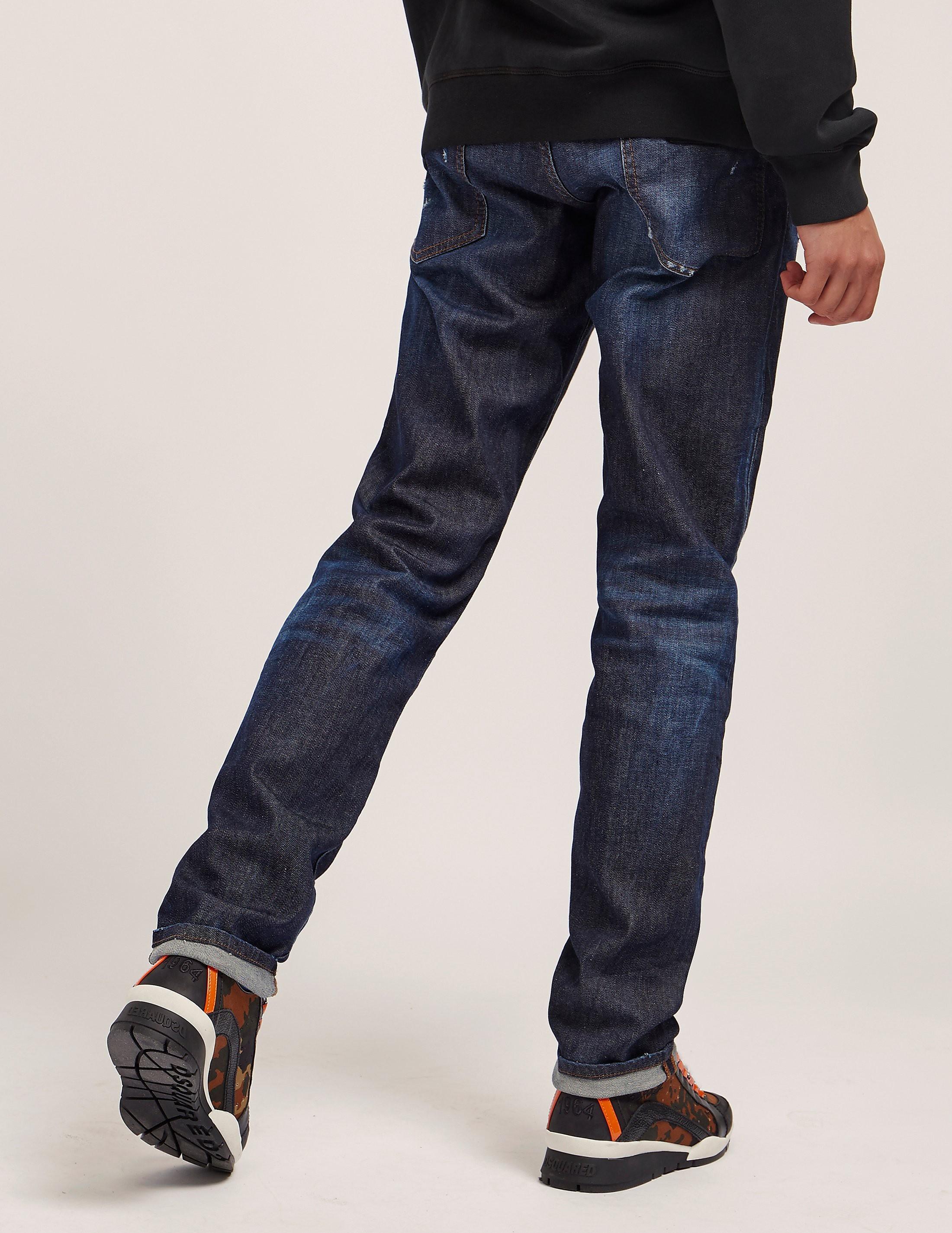 DSQUARED2 Plaque Slim Jeans