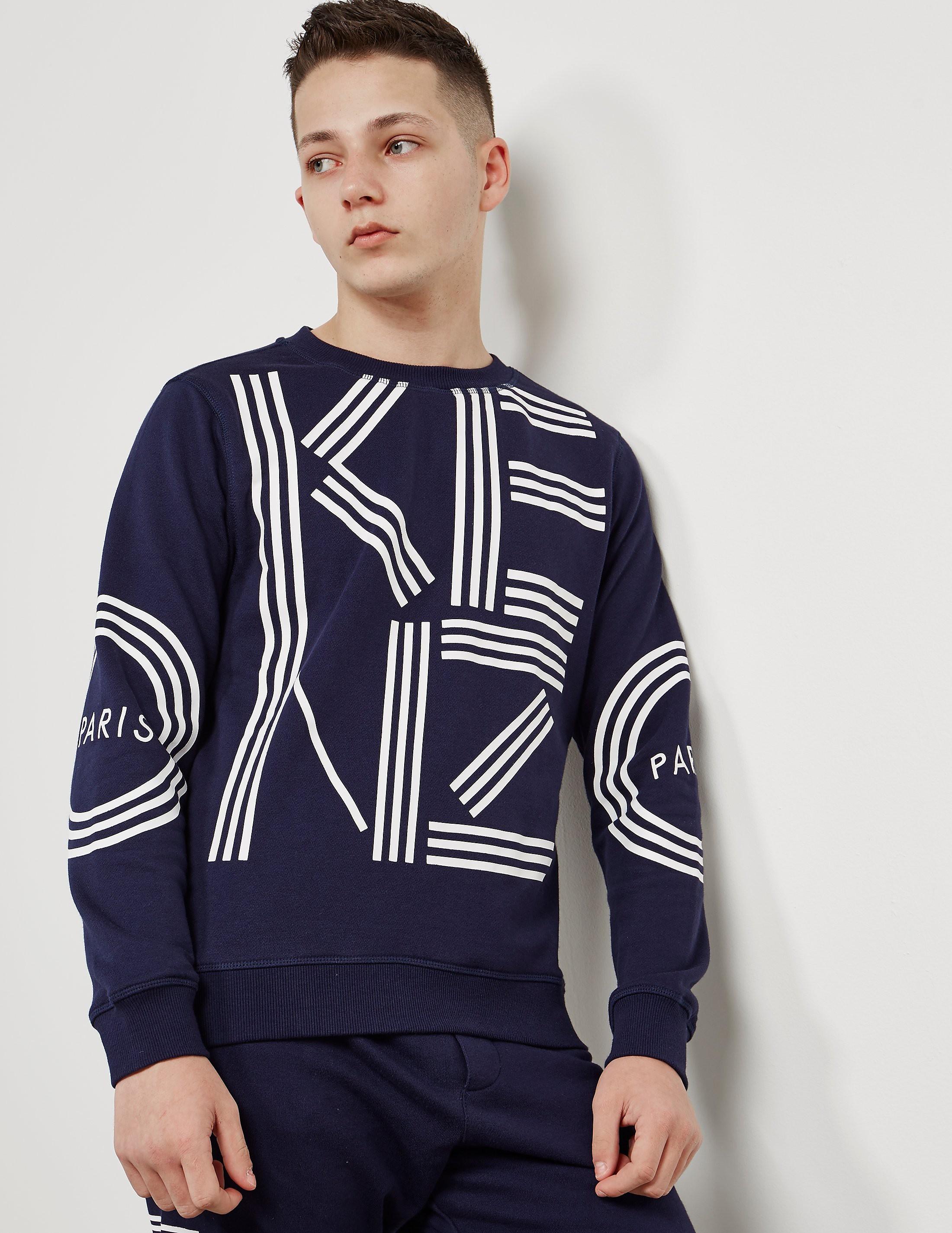 KENZO Letter Sweatshirt