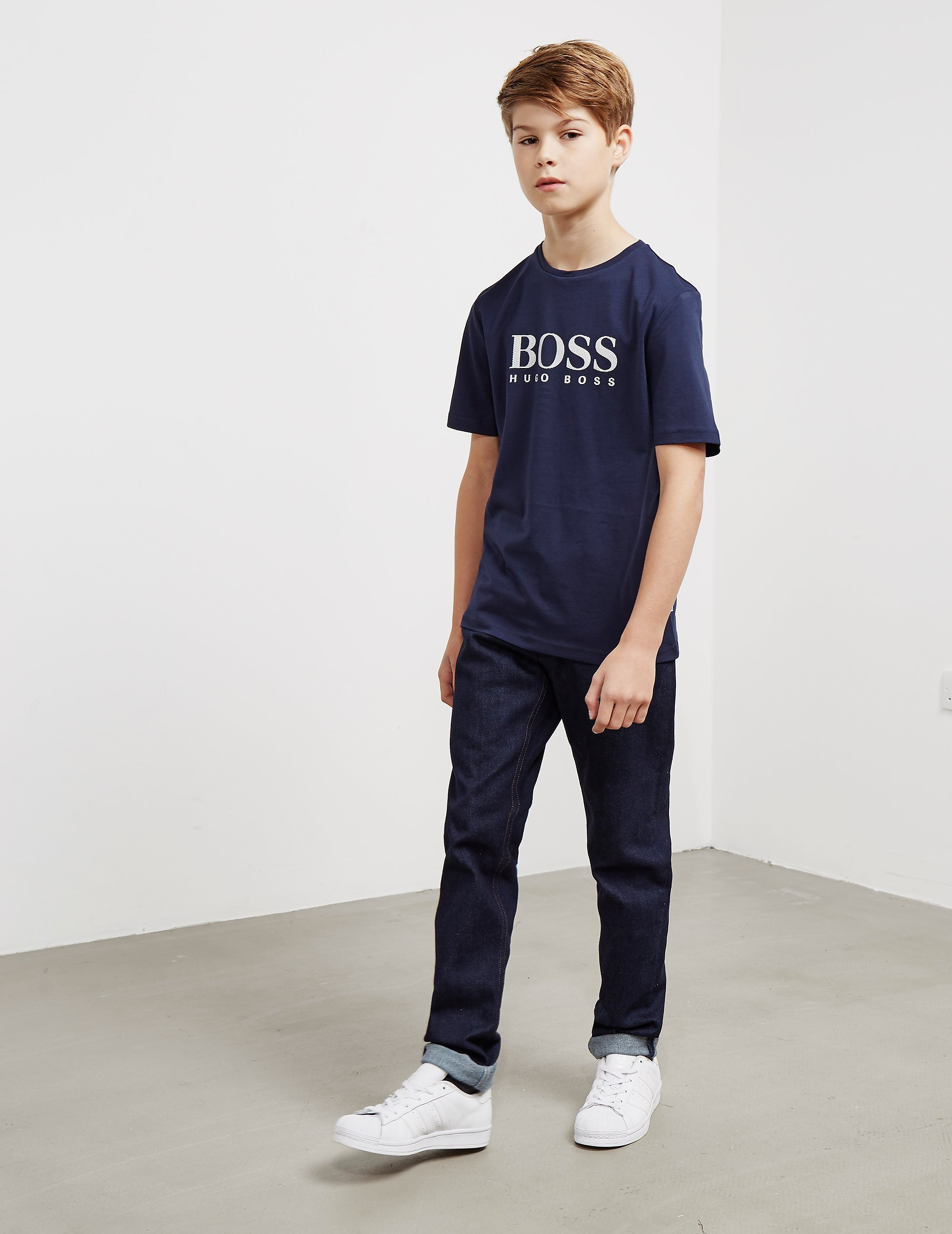 BOSS Large Logo Short Sleeve T-Shirt