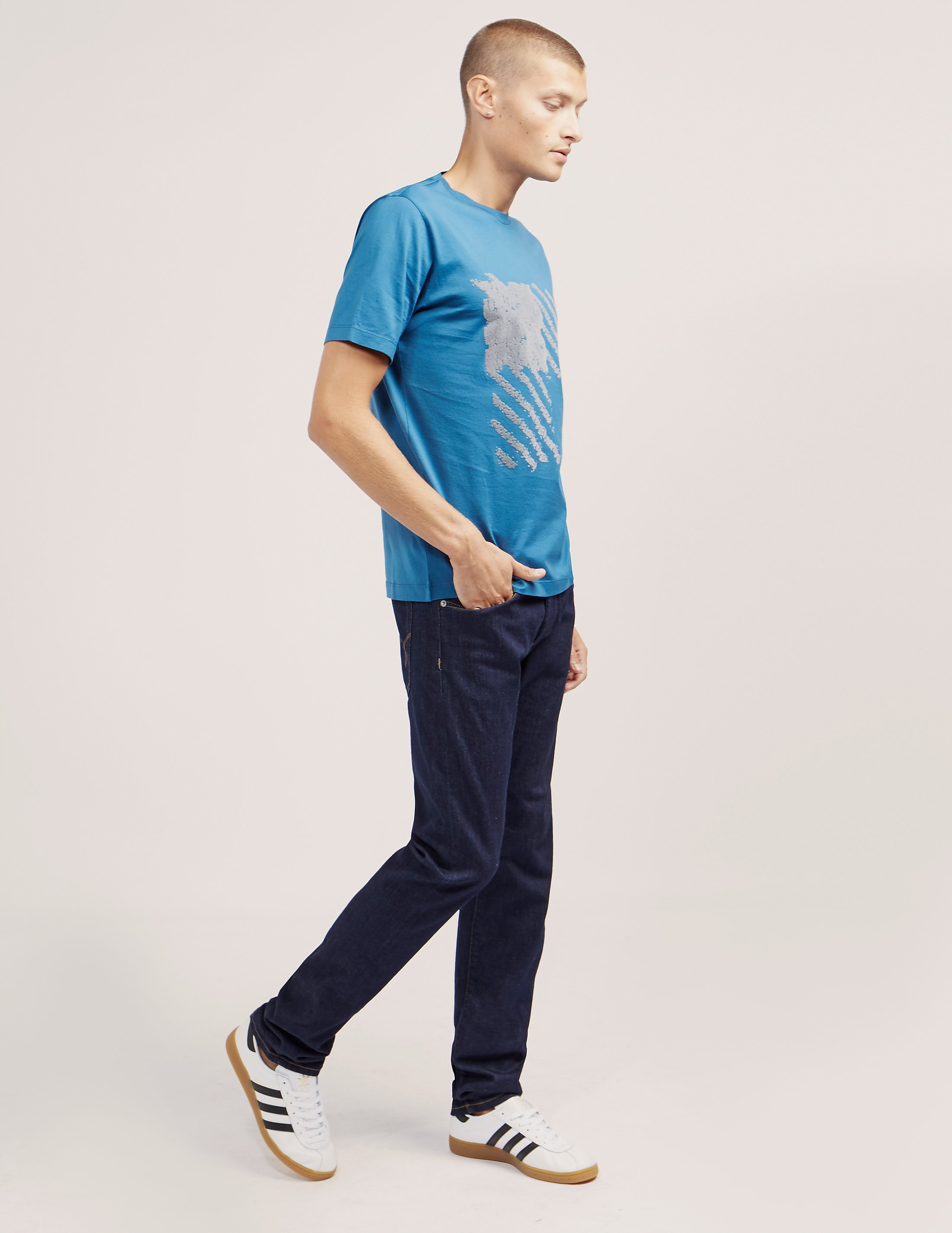Z Zegna Square Short Sleeve T-Shirt