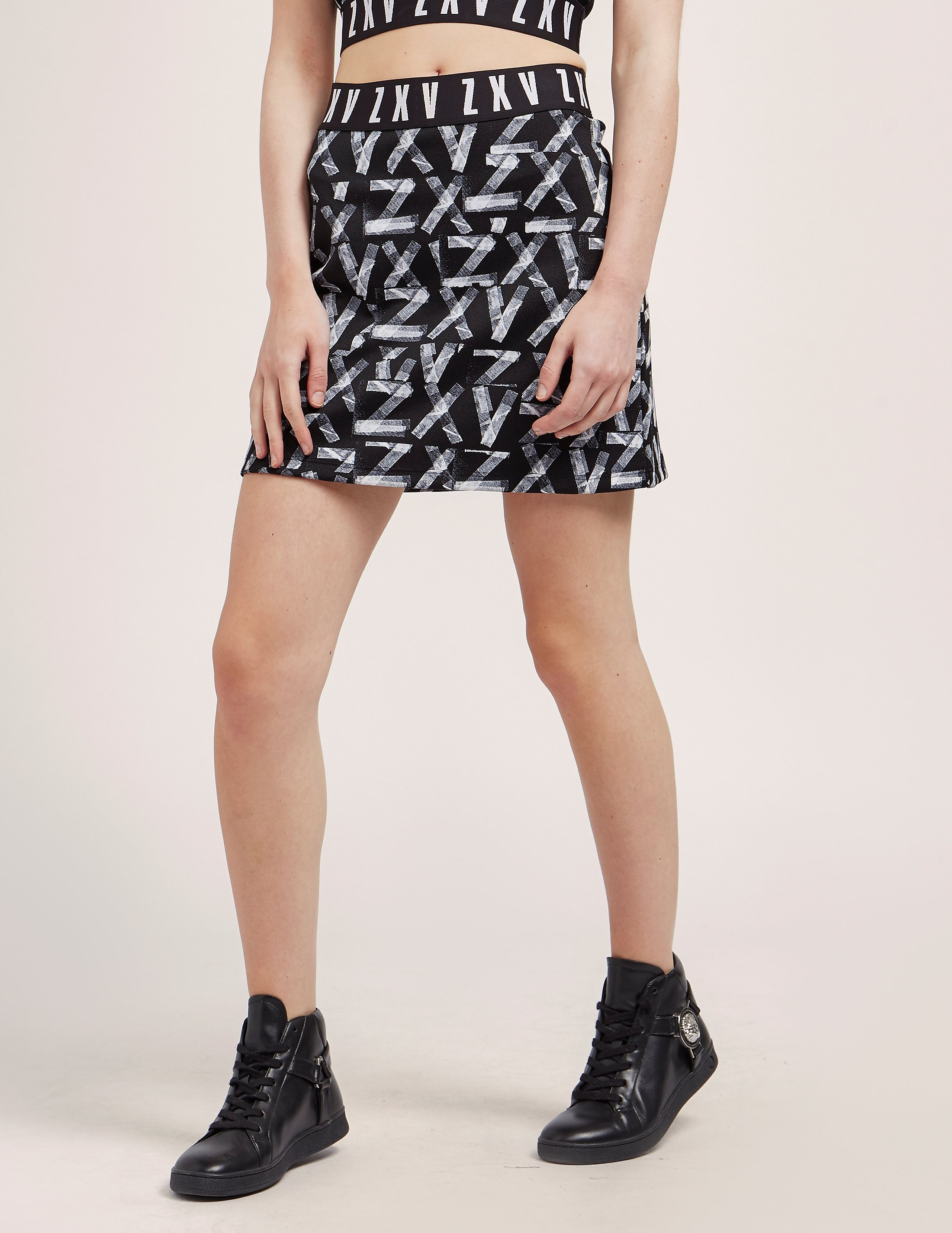 Versus Versace X Zayn Printed Mini Skirt