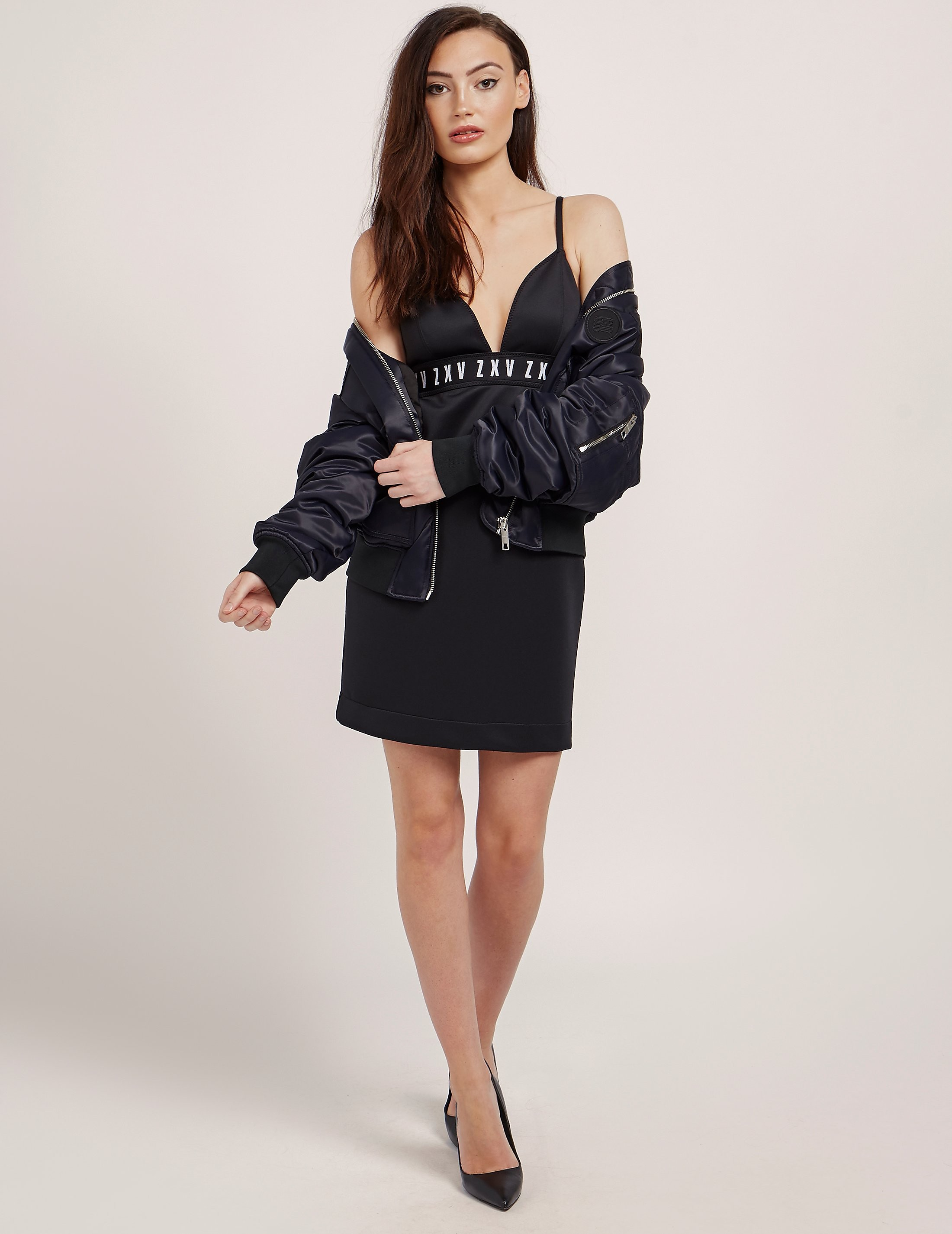 Versus Versace X Zayn Trangle Top Dress