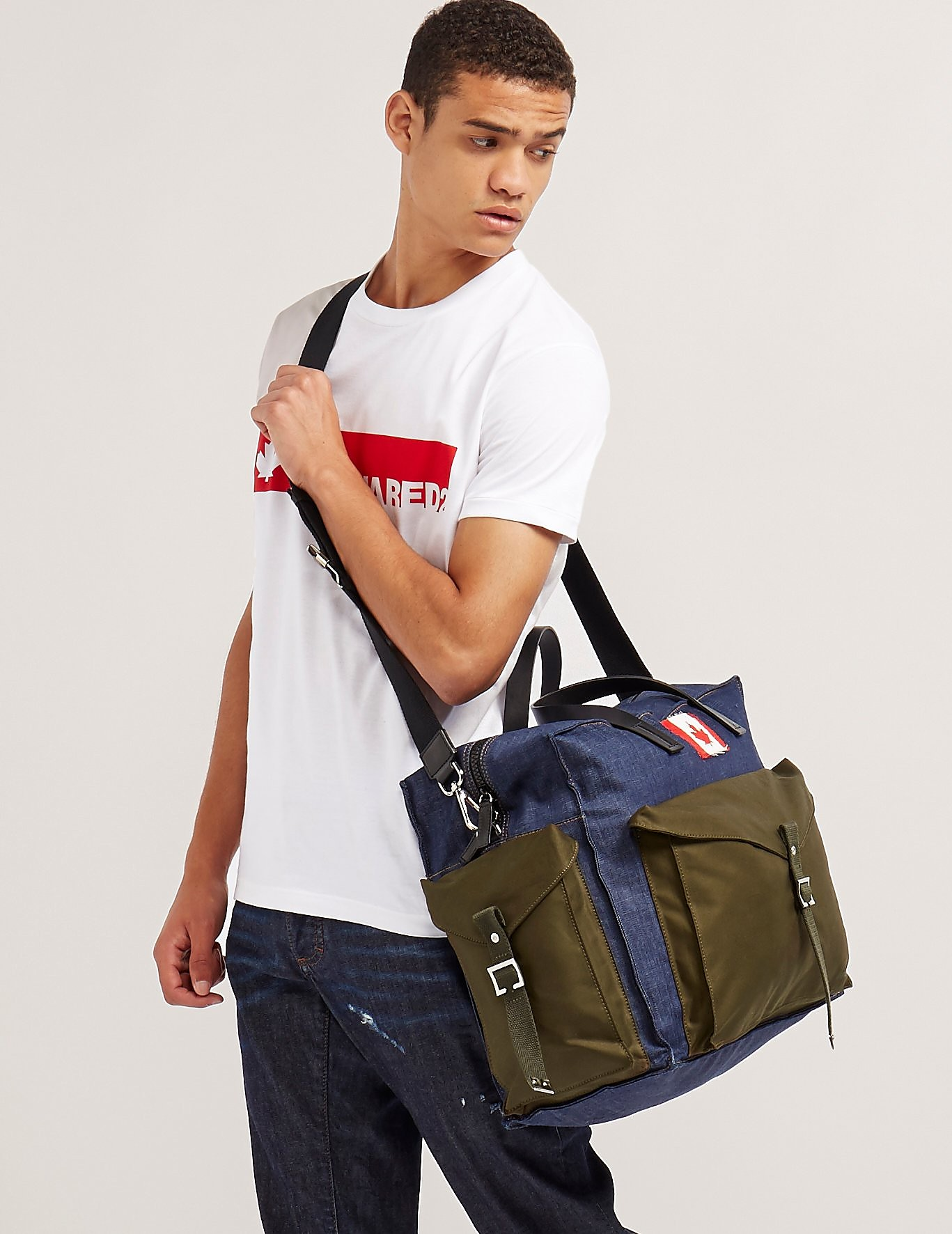 DSQUARED2 Patch Duffle Bag