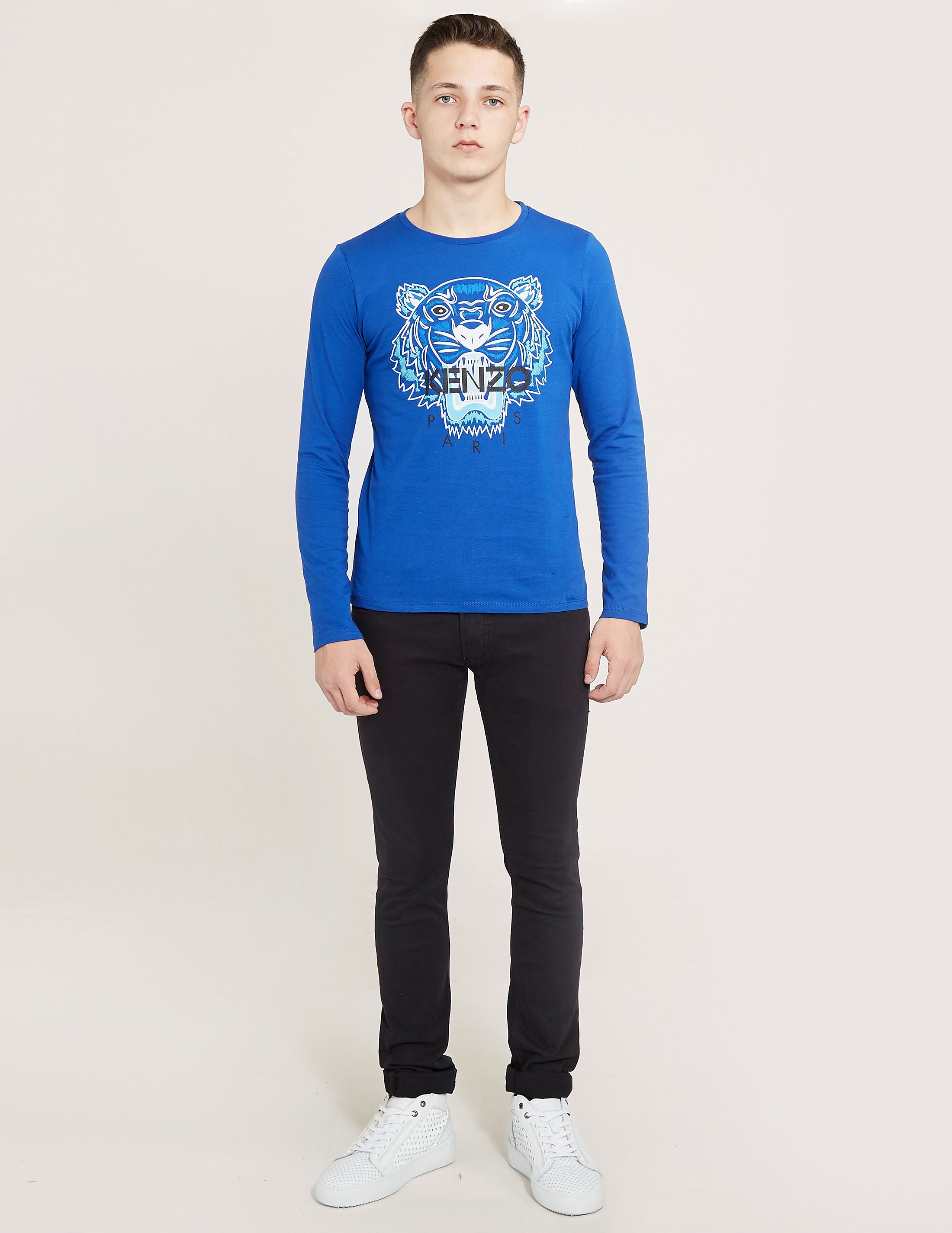 KENZO Tiger Long Sleeve T-Shirt