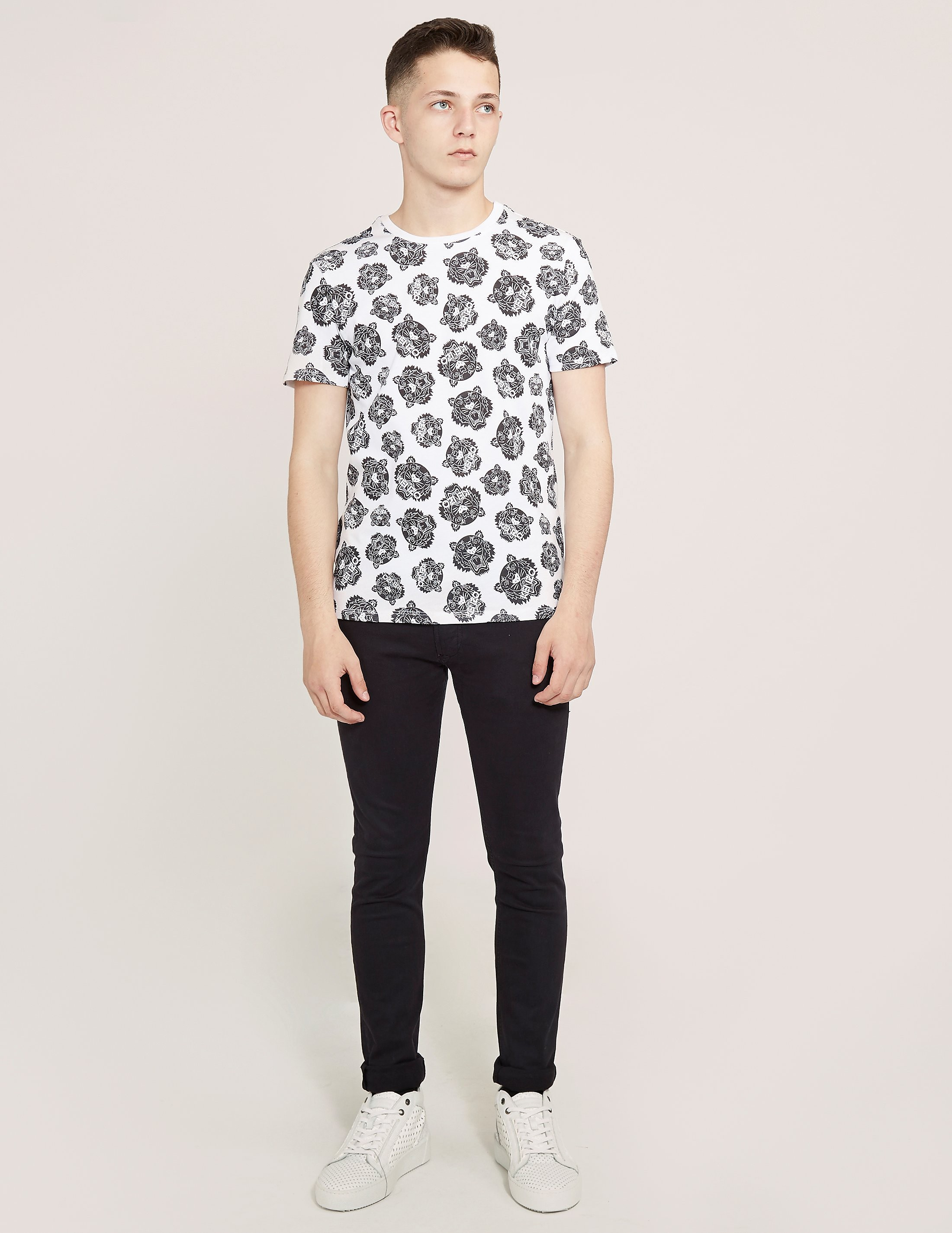 KENZO Printed Tiger Short Sleeve T-Shirt