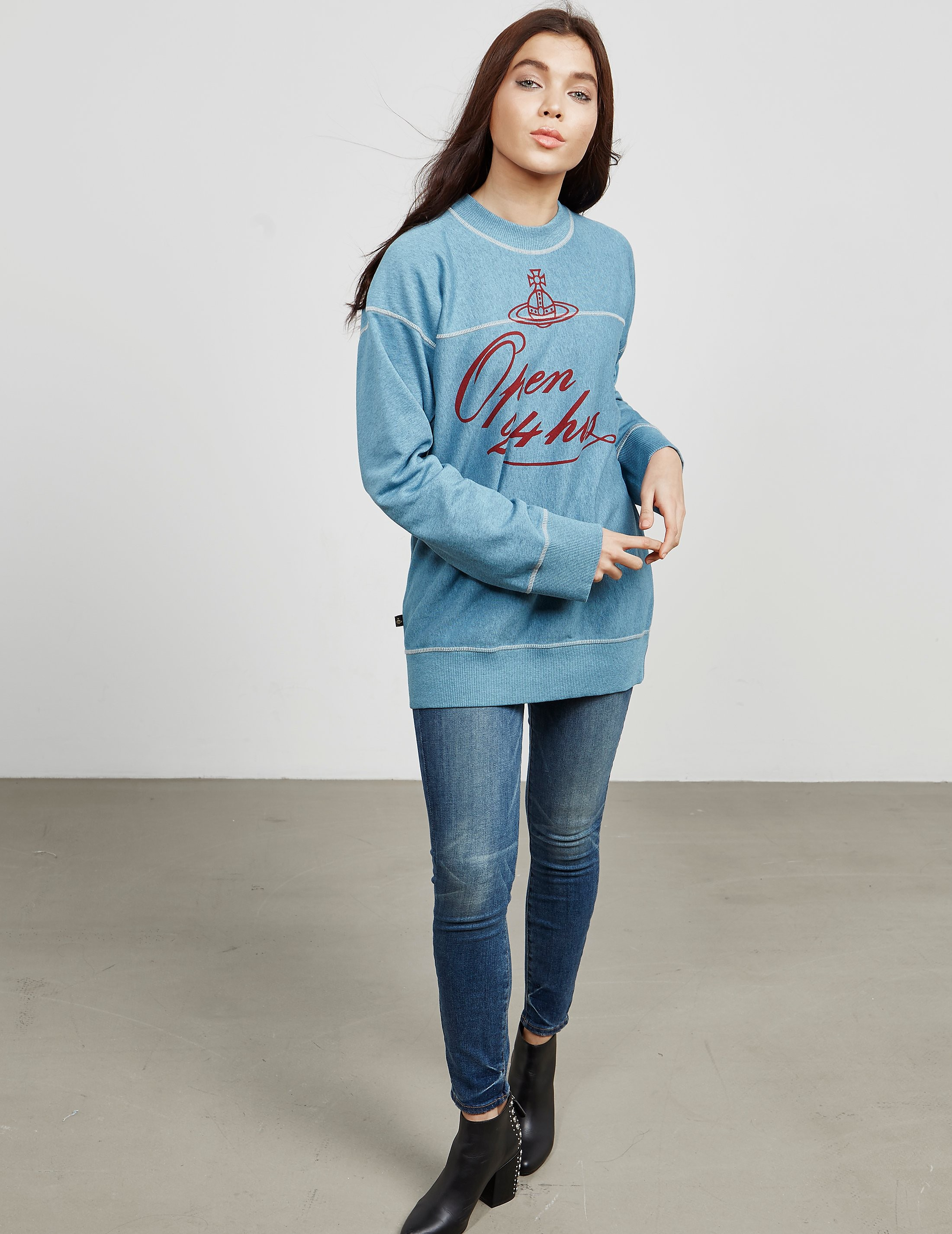 Vivienne Westwood Anglomania 24 Hours Sweatshirt