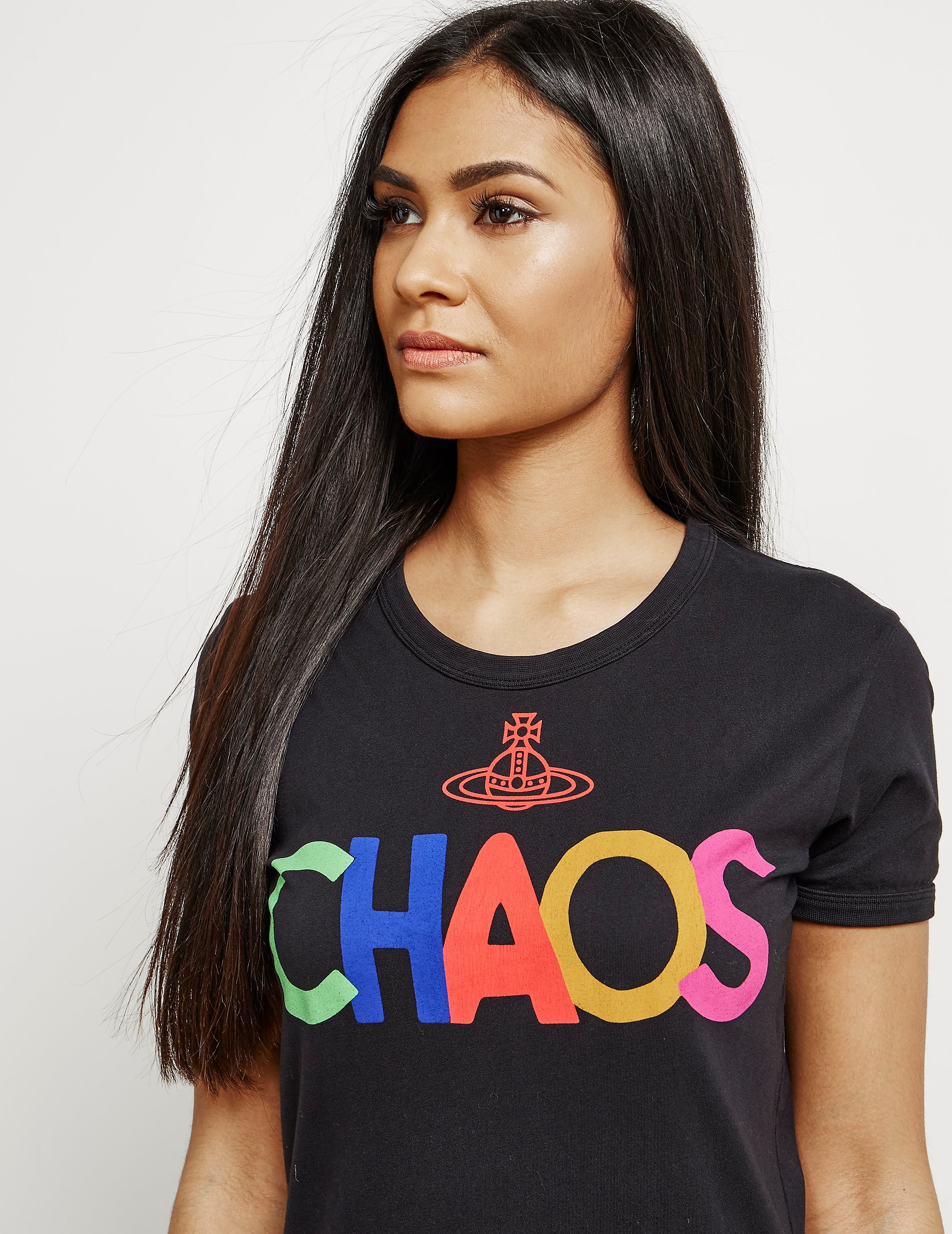 Vivienne Westwood Anglomania Chaos Orb Short Sleeve T-Shirt