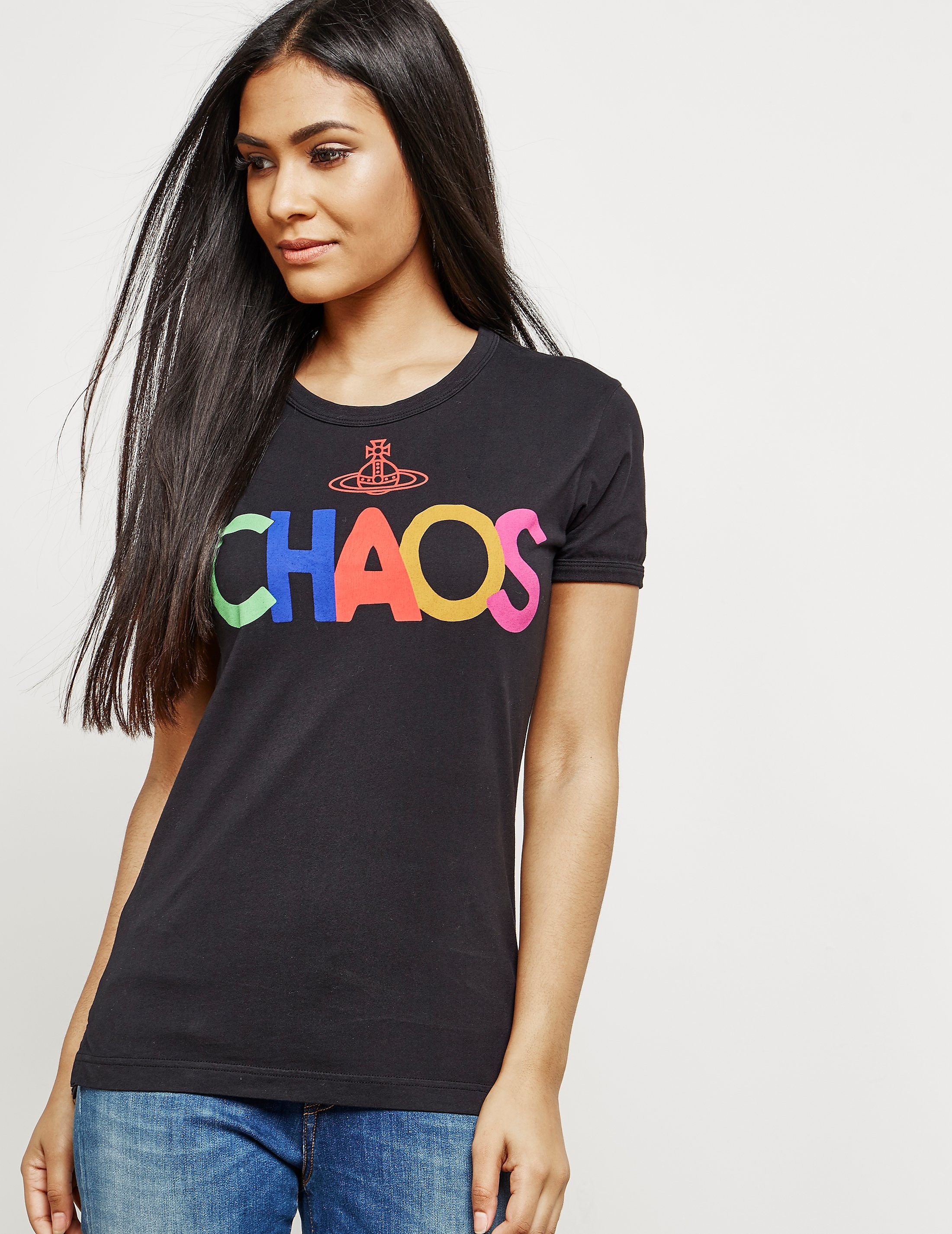 Vivienne Westwood Choas Orb Short Sleeve T-Shirt