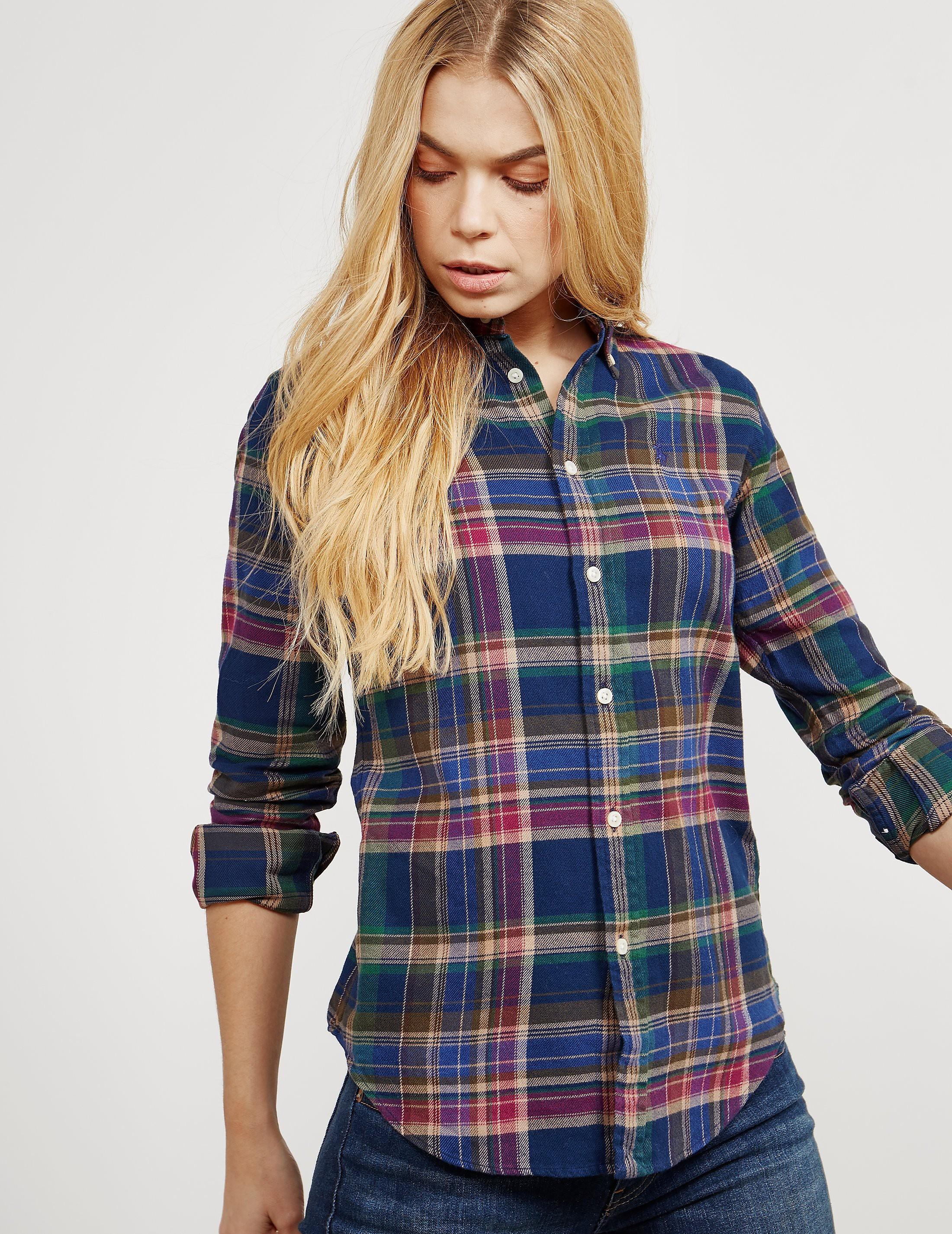 Polo Ralph Lauren Georgia Plaid Long Sleeve Shirt