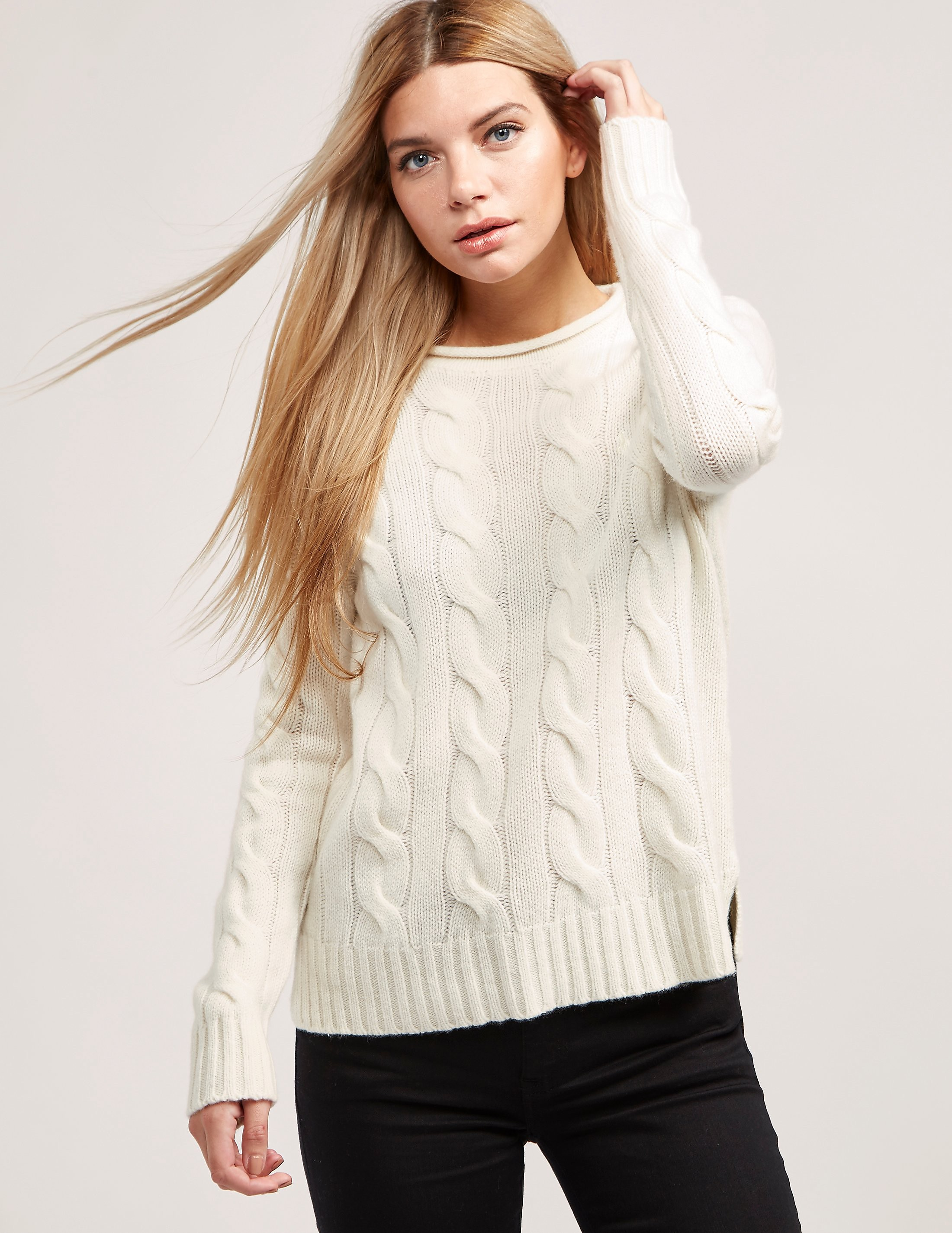 Polo Ralph Lauren Boxy Roll Neck Knitted Jumper