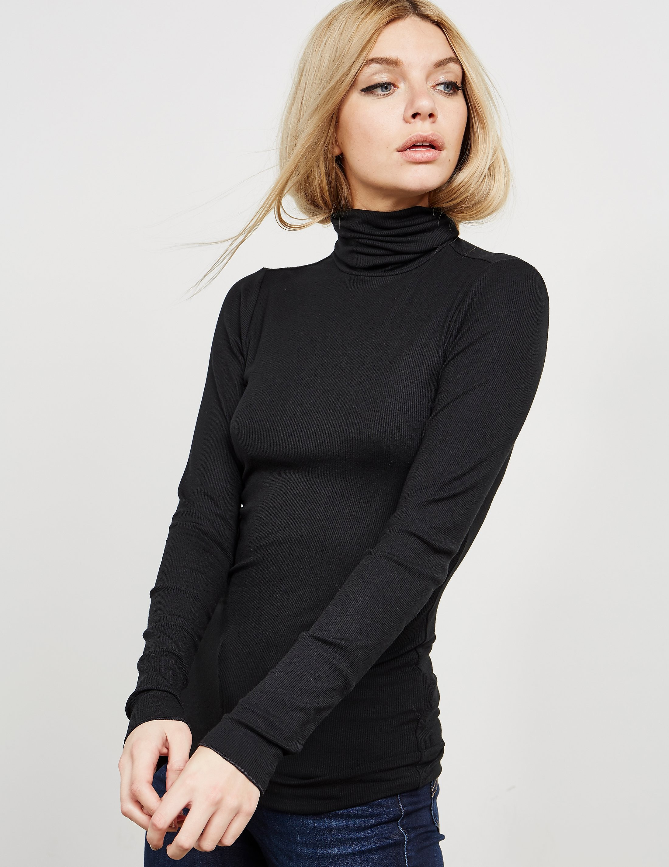 Polo Ralph Lauren Ribbed Turtle Neck Knitted Jumper