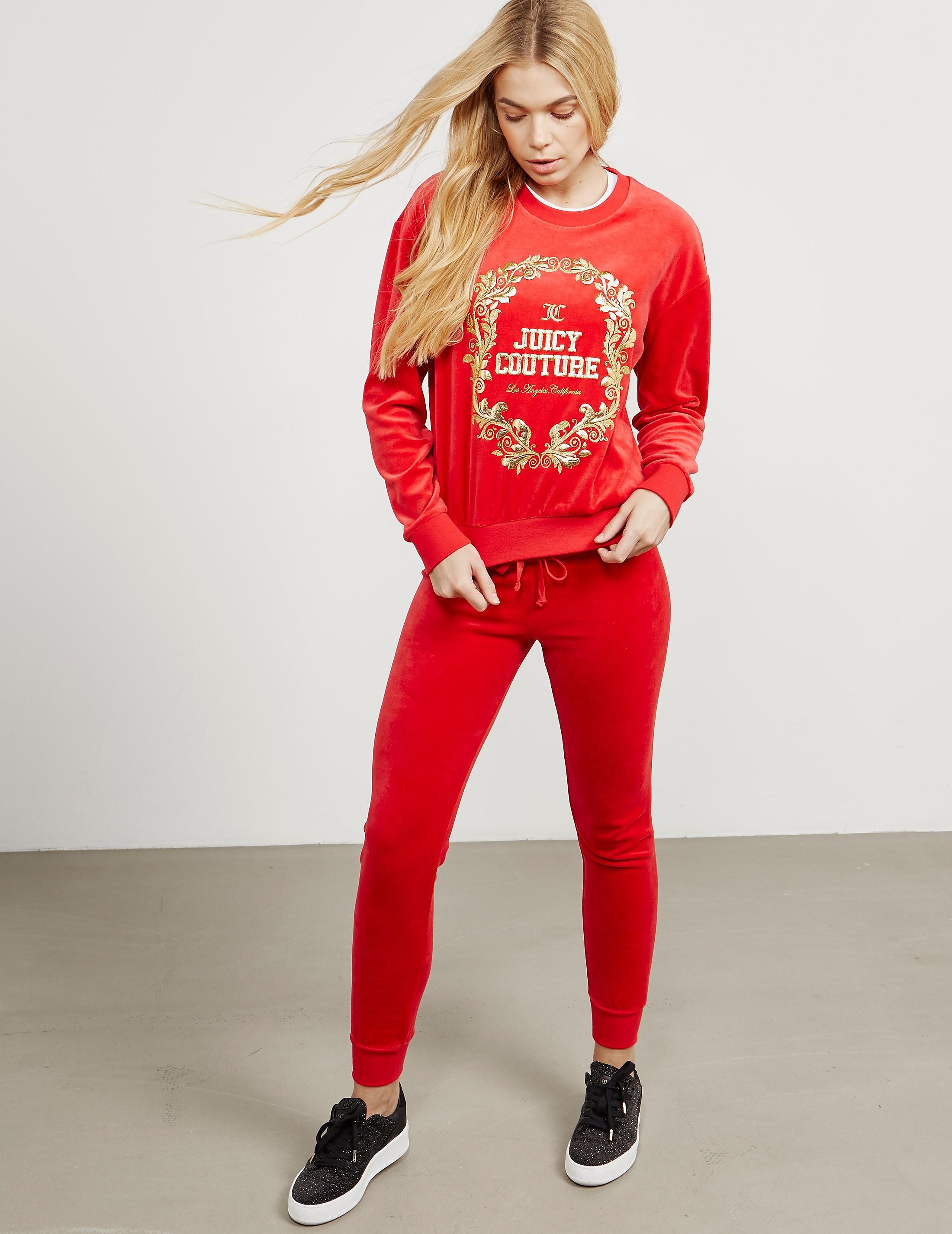 Juicy Couture Wreath Sweatshirt