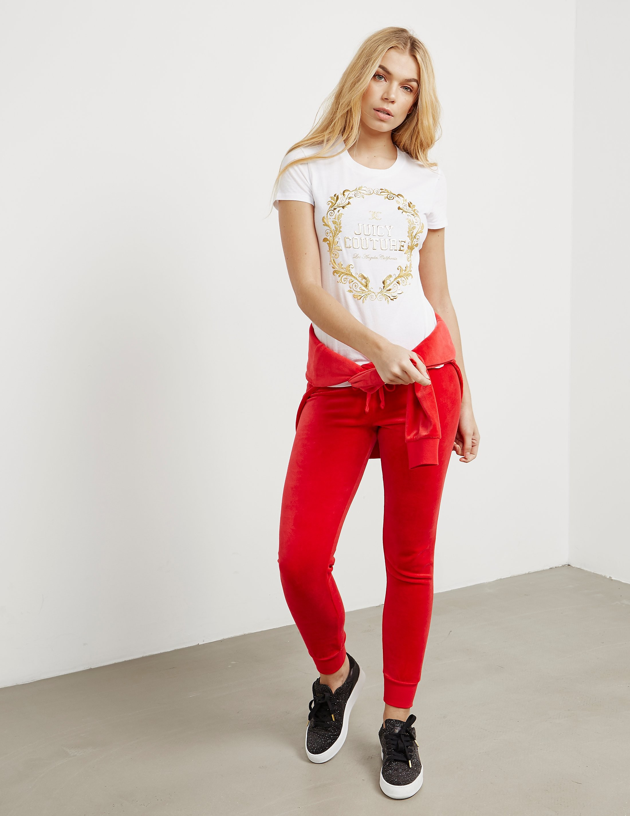 Juicy Couture Wreath Short Sleeve T-Shirt