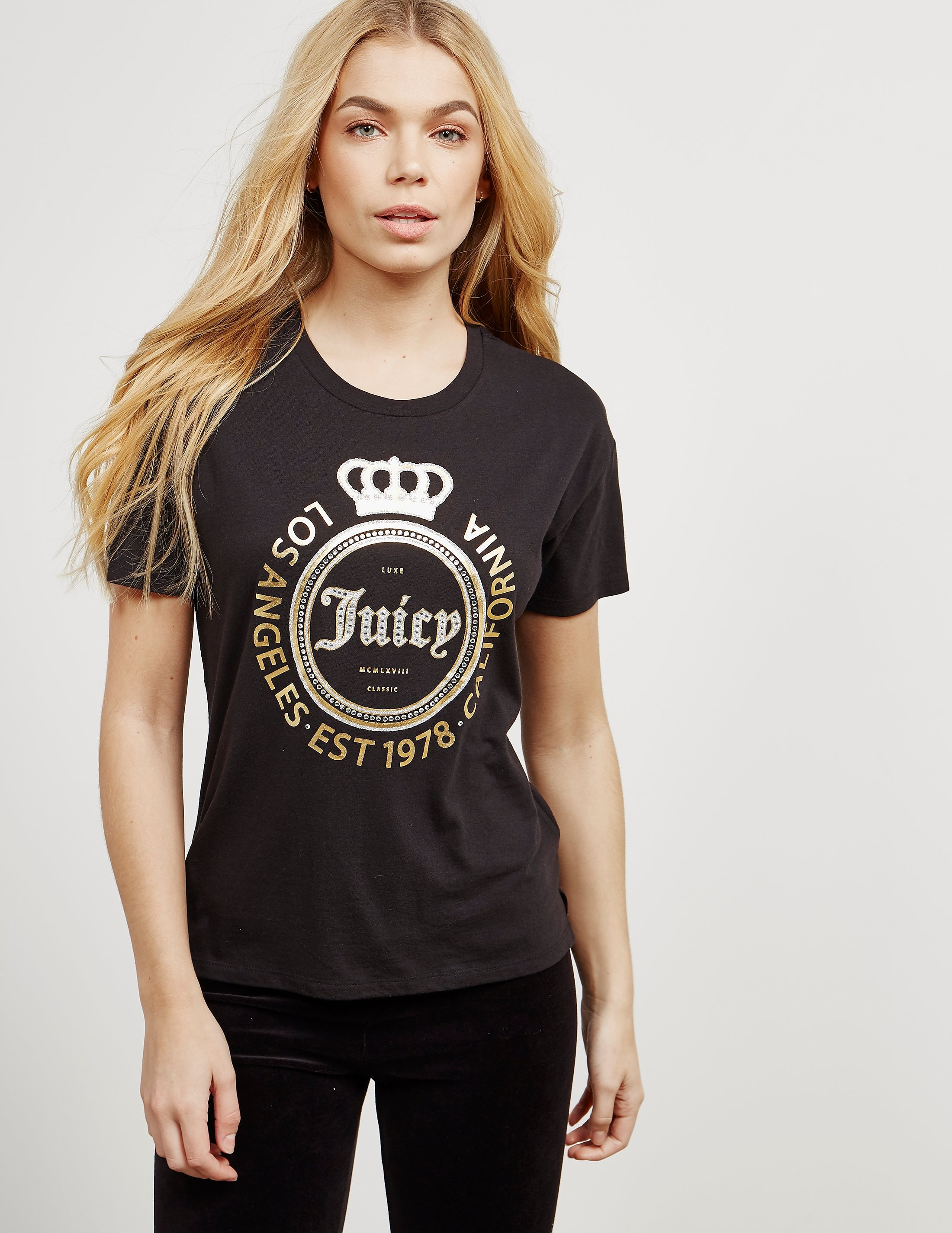 Juicy Couture Crown Short Sleeve T-Shirt