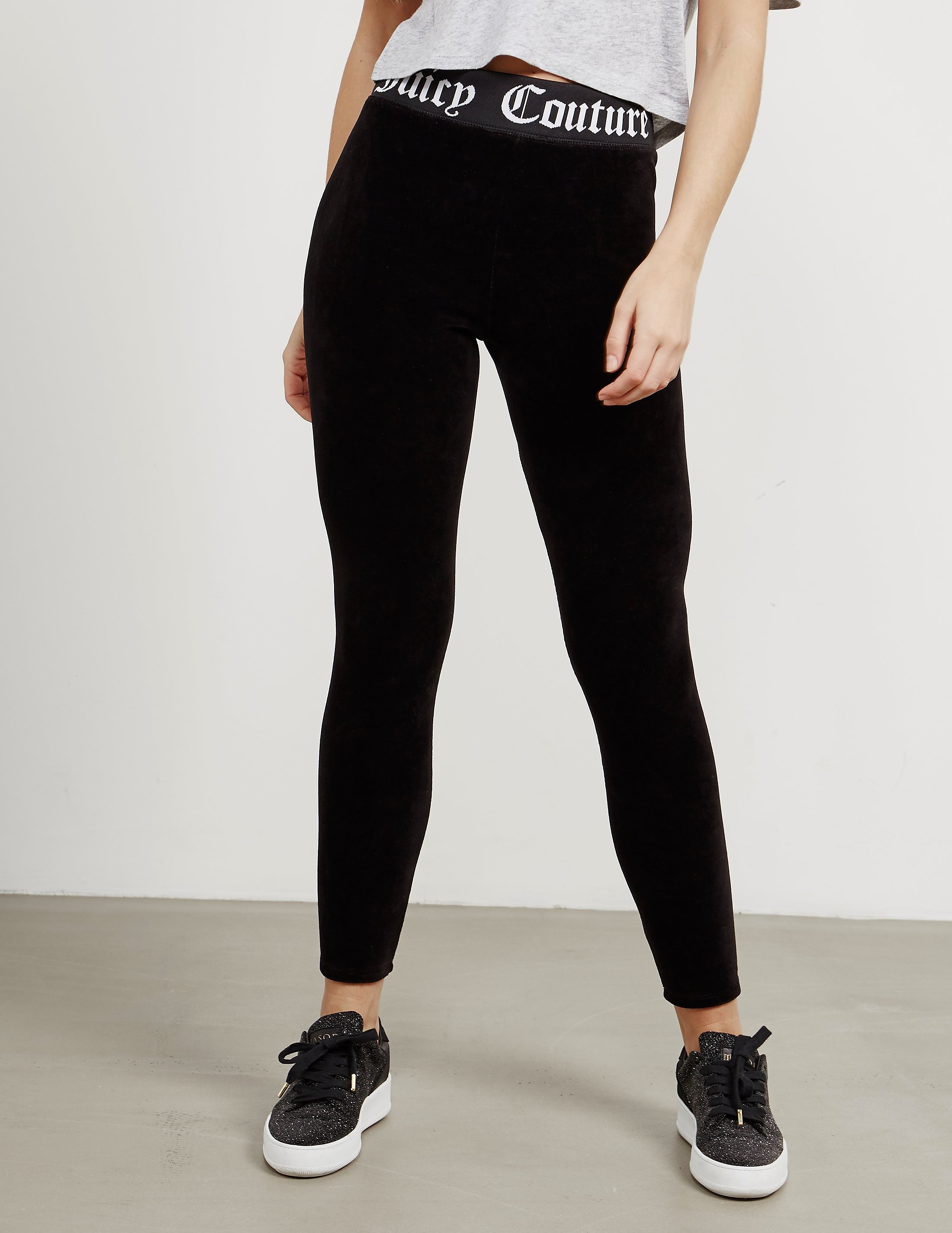 Juicy Couture Brand Taped Leggings