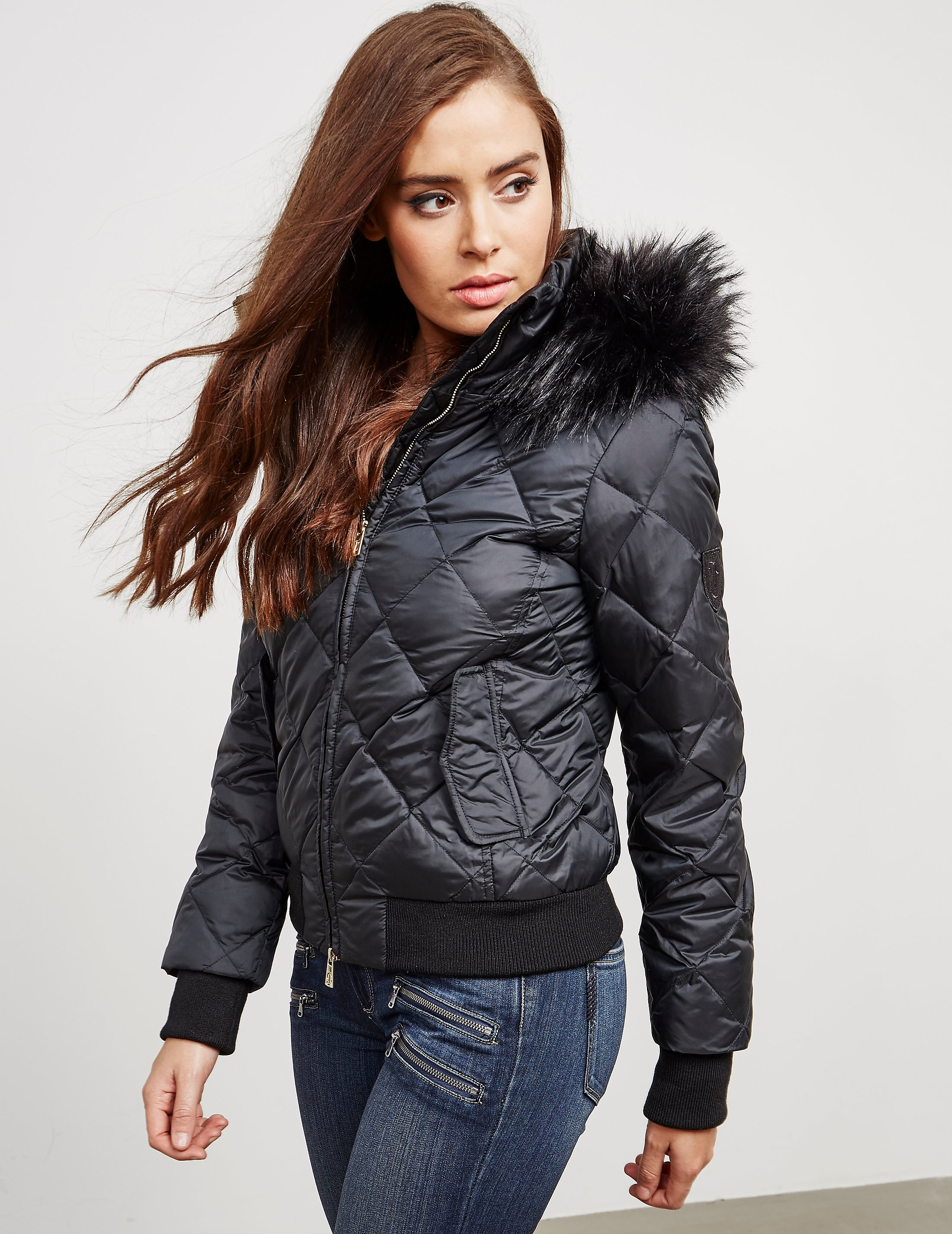 Juicy Couture Padded Hood Jacket