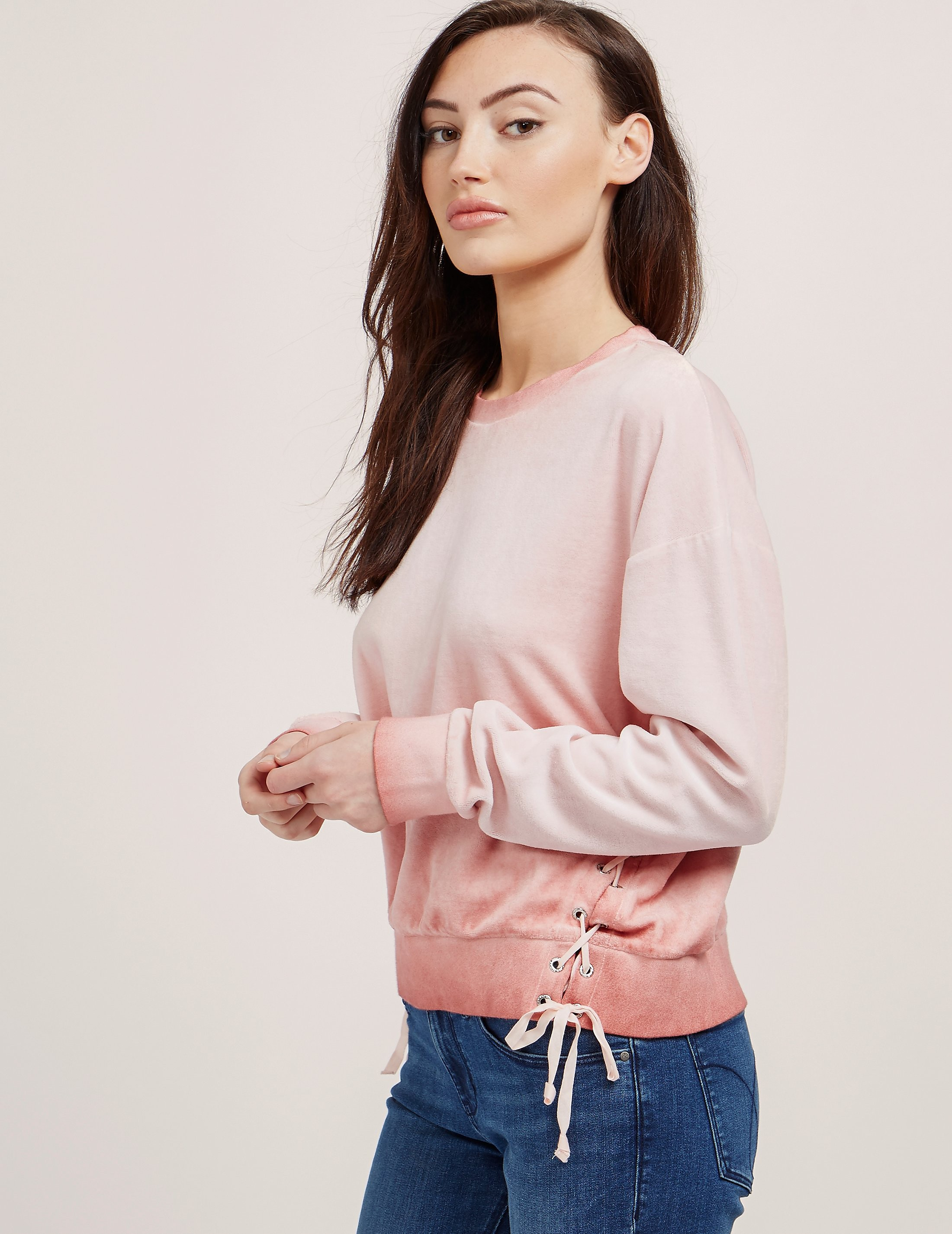 Juicy Couture Ombre Track Sweatshirt