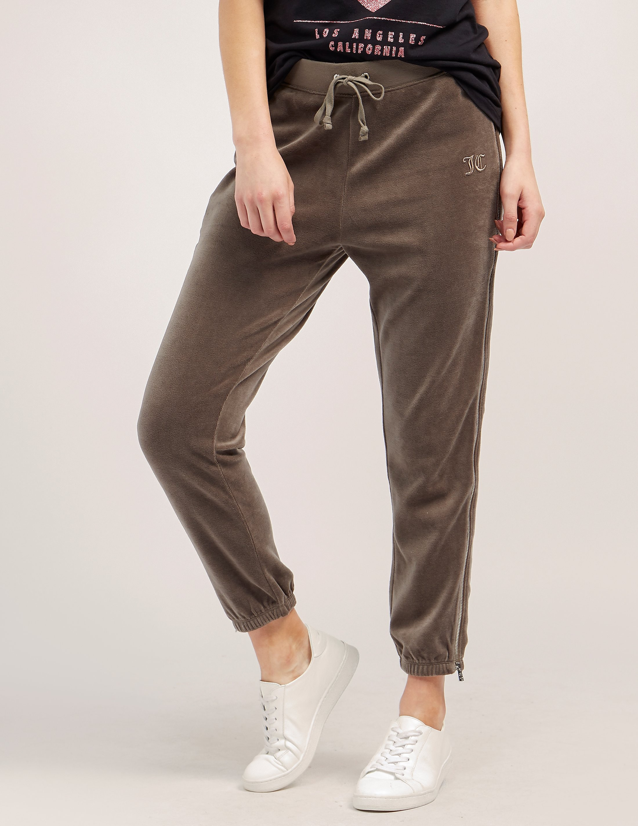 Juicy Couture Velour Zip Pant