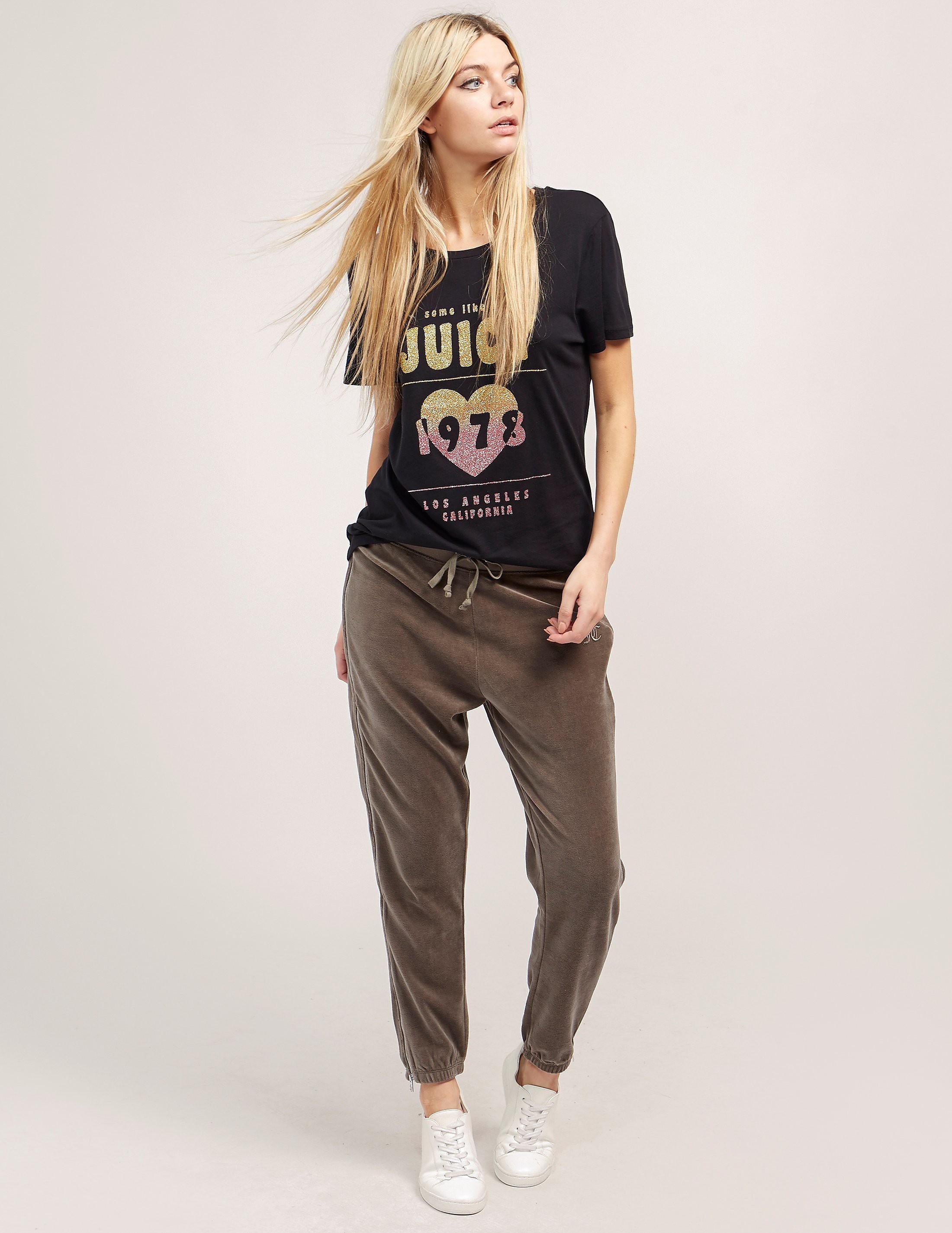 Juicy Couture Velour Zip Pant