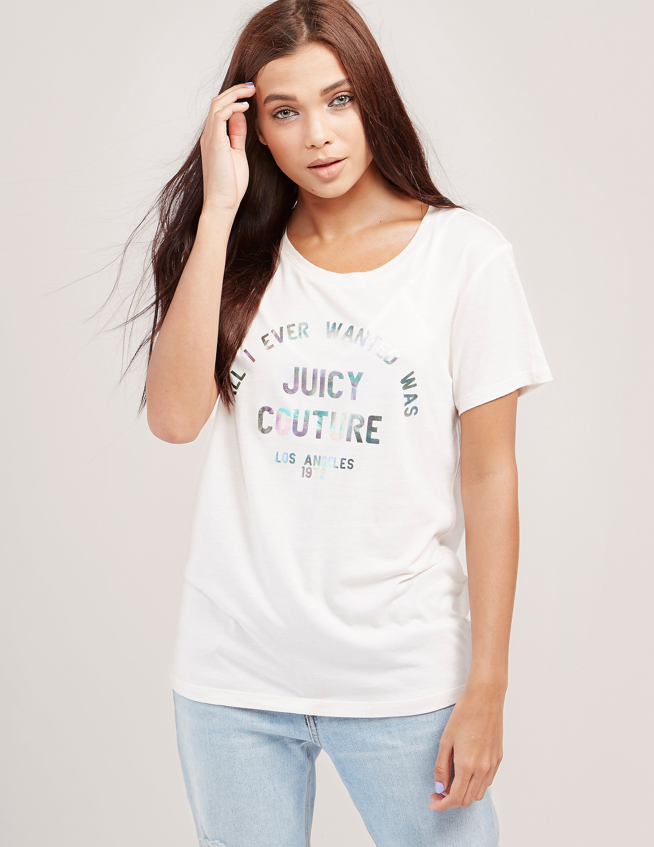 Juicy Couture All I Ever Short Sleeve T-Shirt
