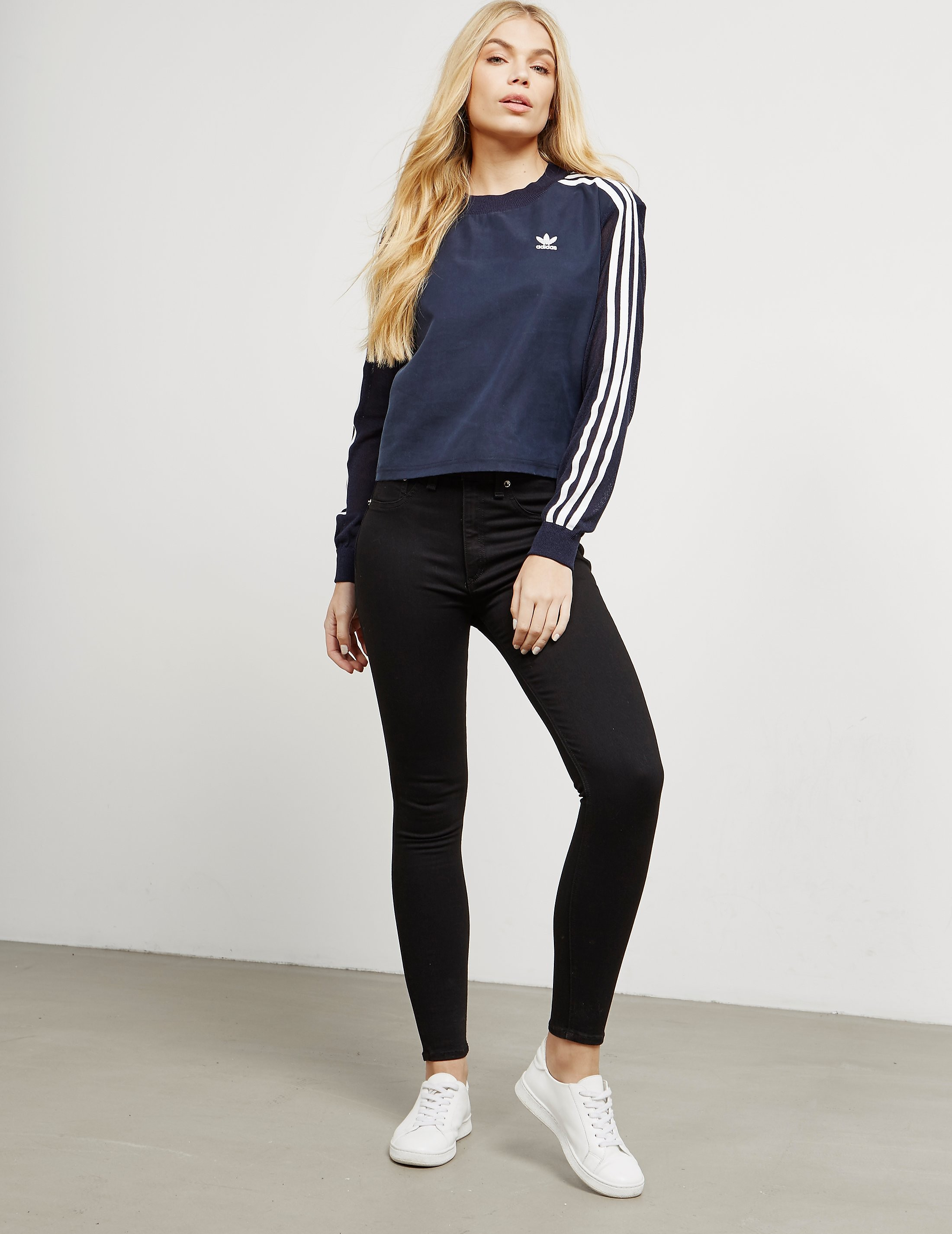 adidas Originals Three Stripe Sweatshirt