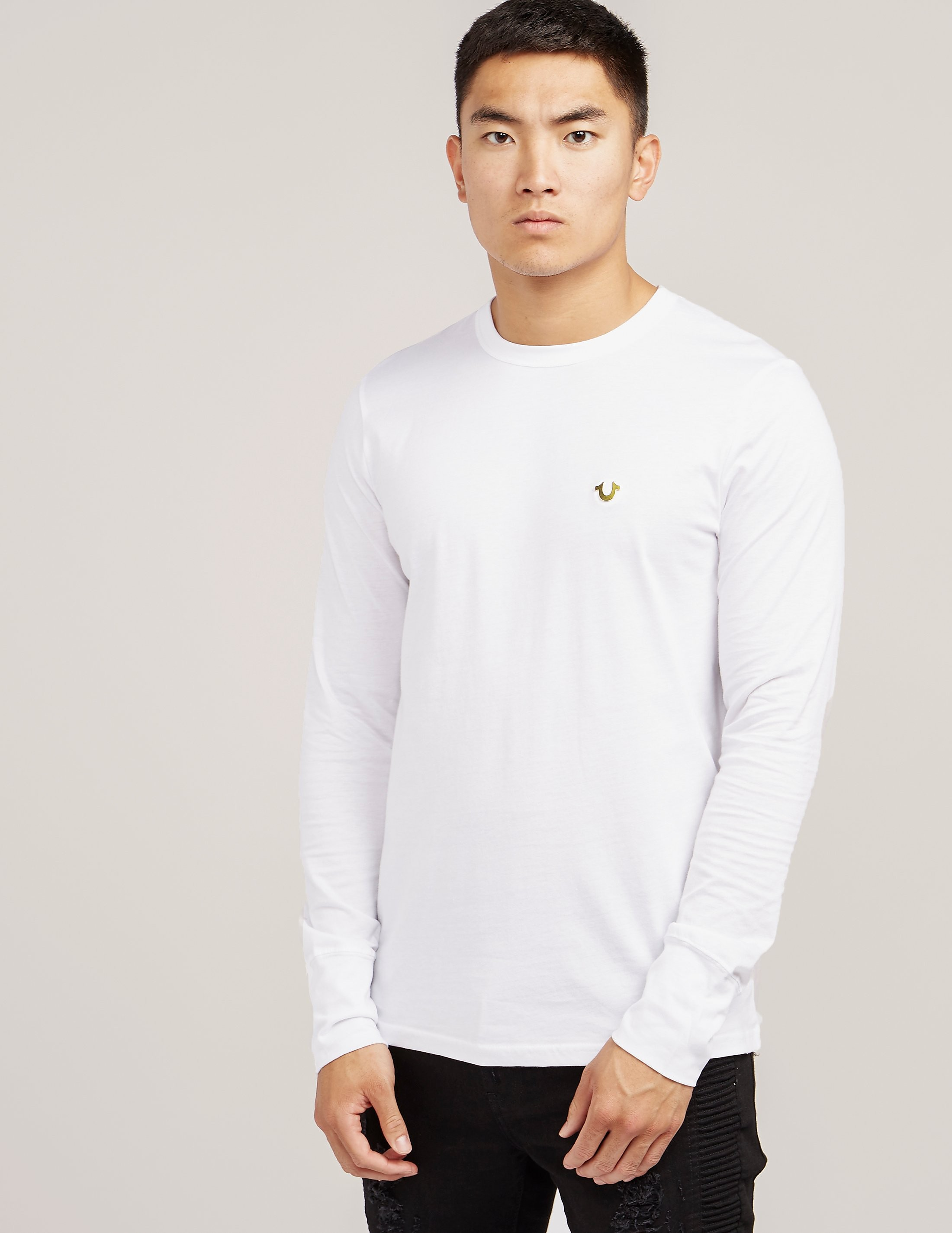 True Religion Horseshoe Long Sleeve T-Shirt