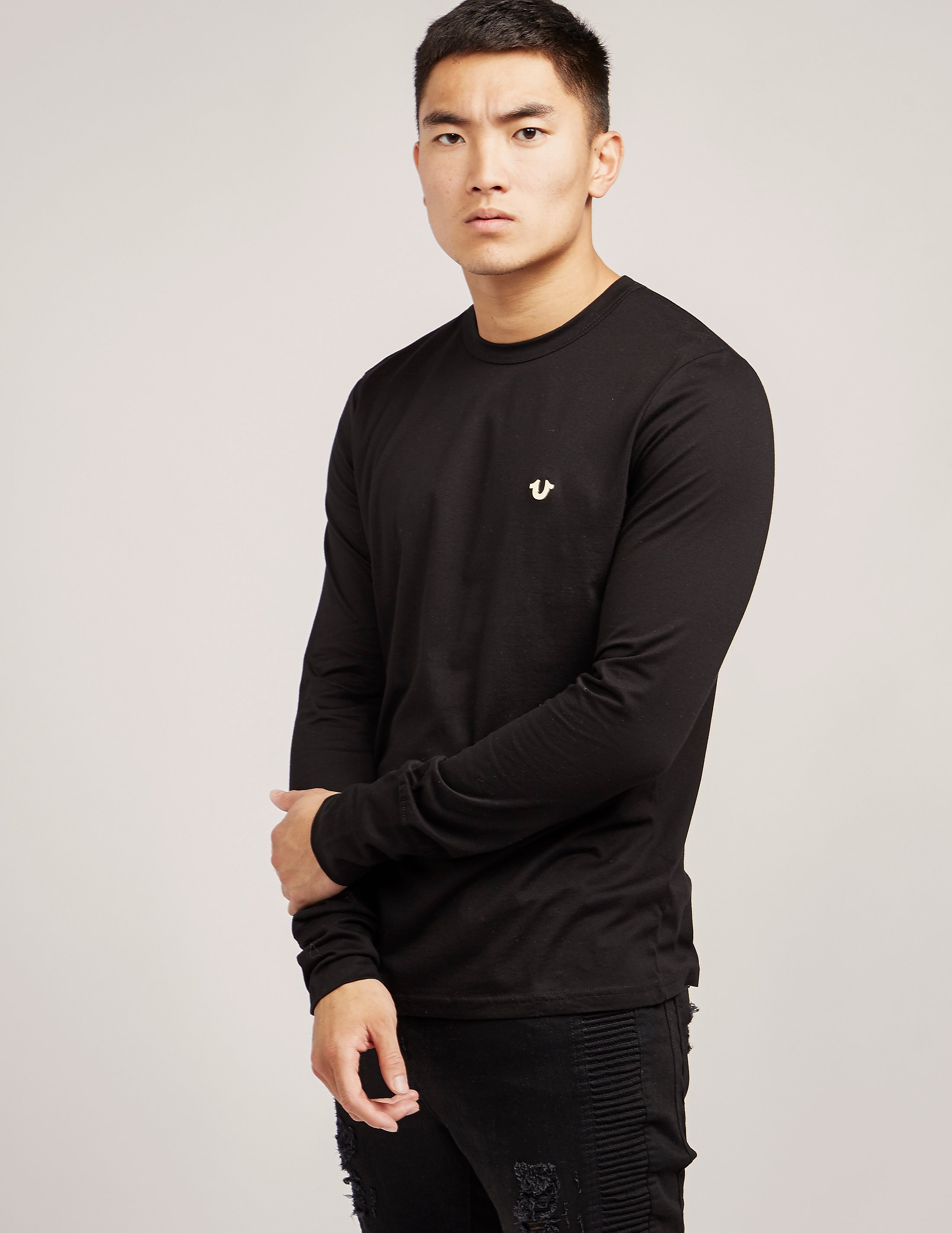 True Religion Horseshoe Long Sleeve T-Shirt