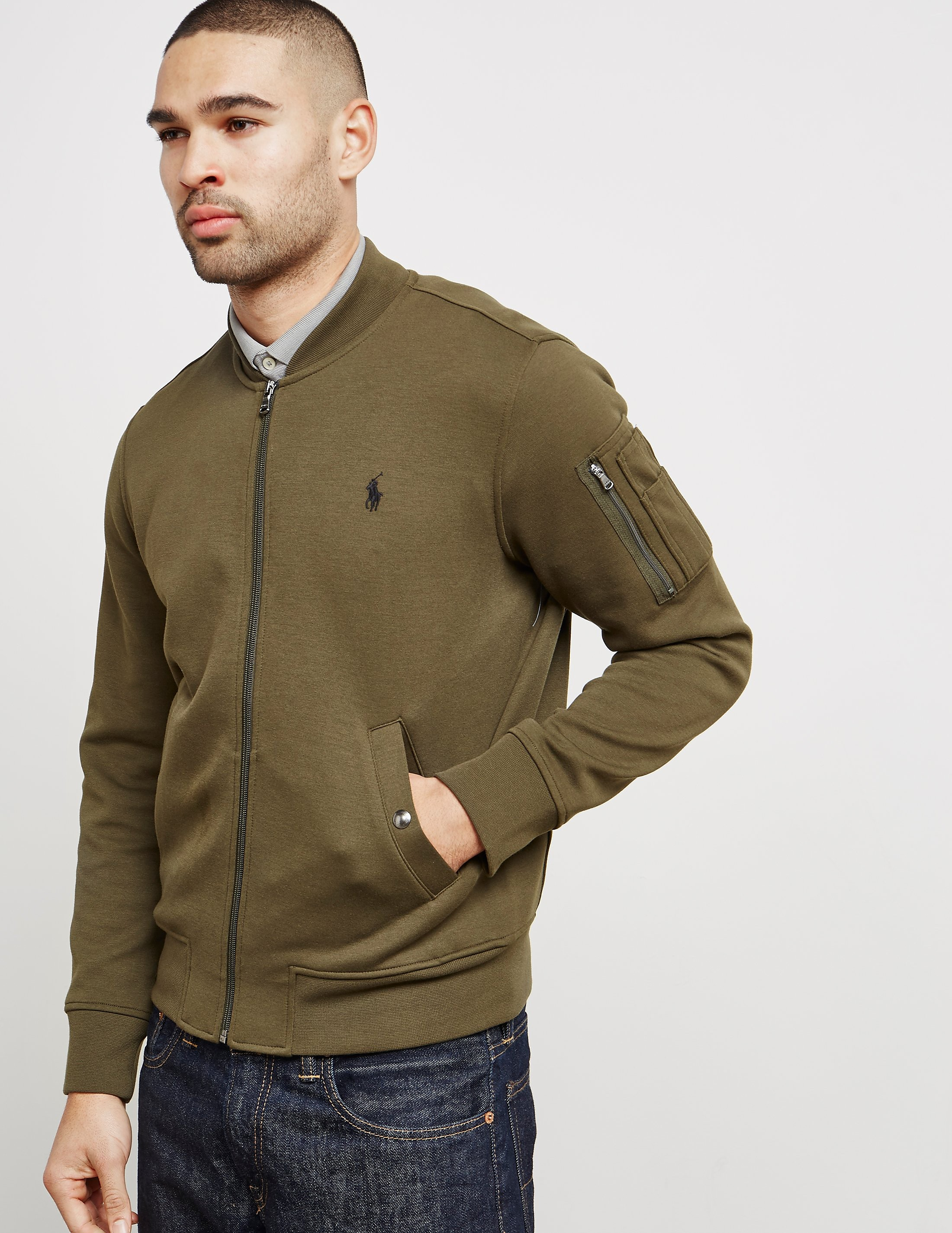 Polo Ralph Lauren Fleece Bomber Jacket