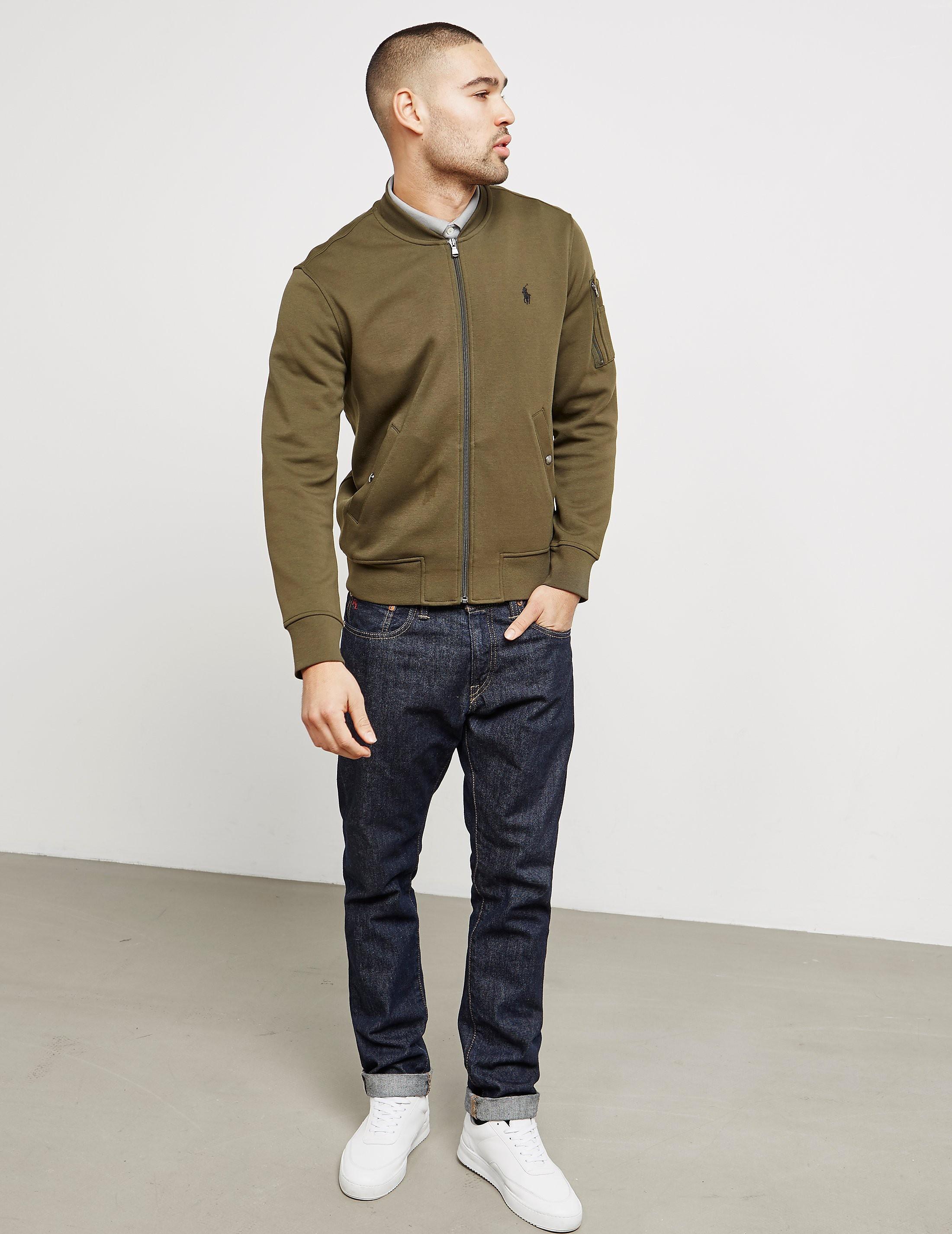 Polo Ralph Lauren Fleece Bomber Jacket