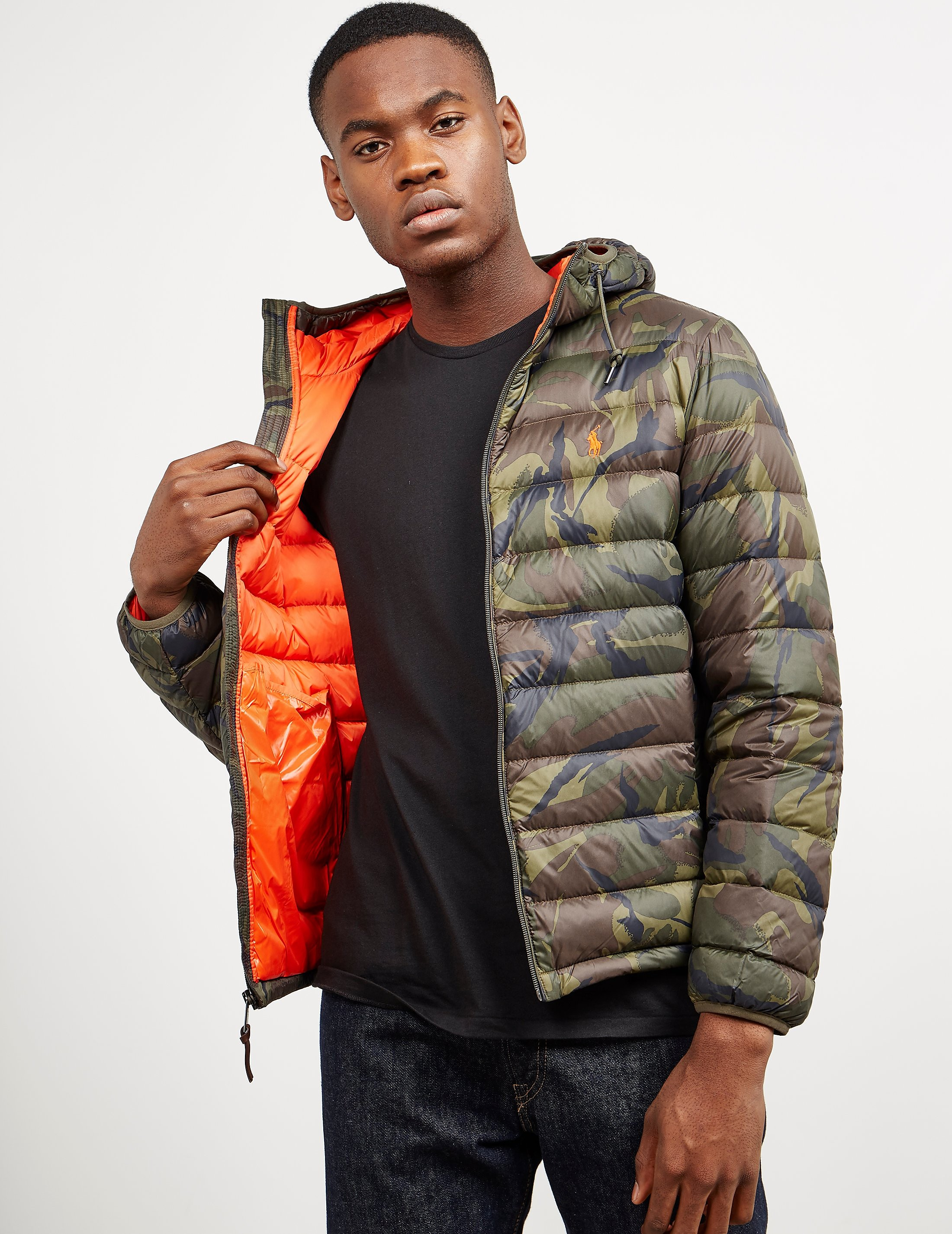 Polo Ralph Lauren Camoflauge Padded Jacket
