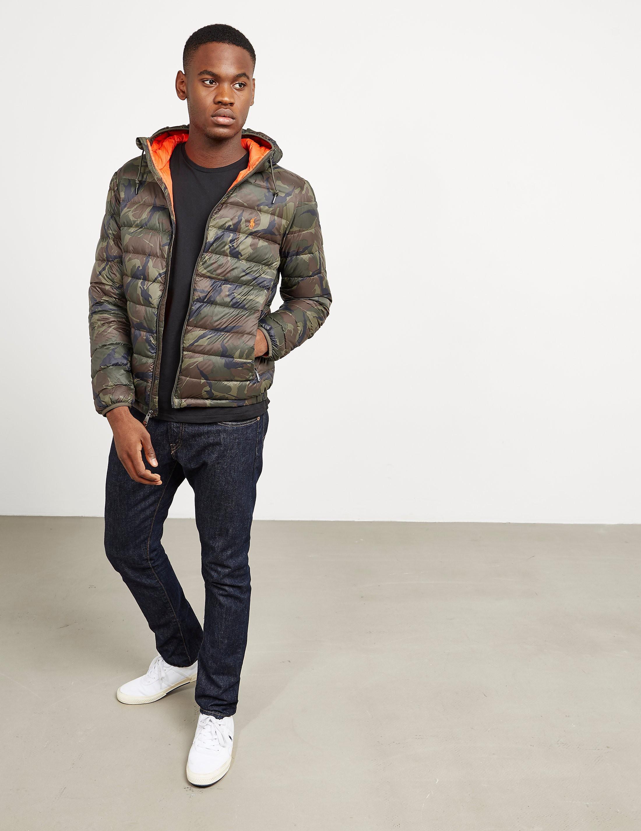 Polo Ralph Lauren Camoflauge Padded Jacket