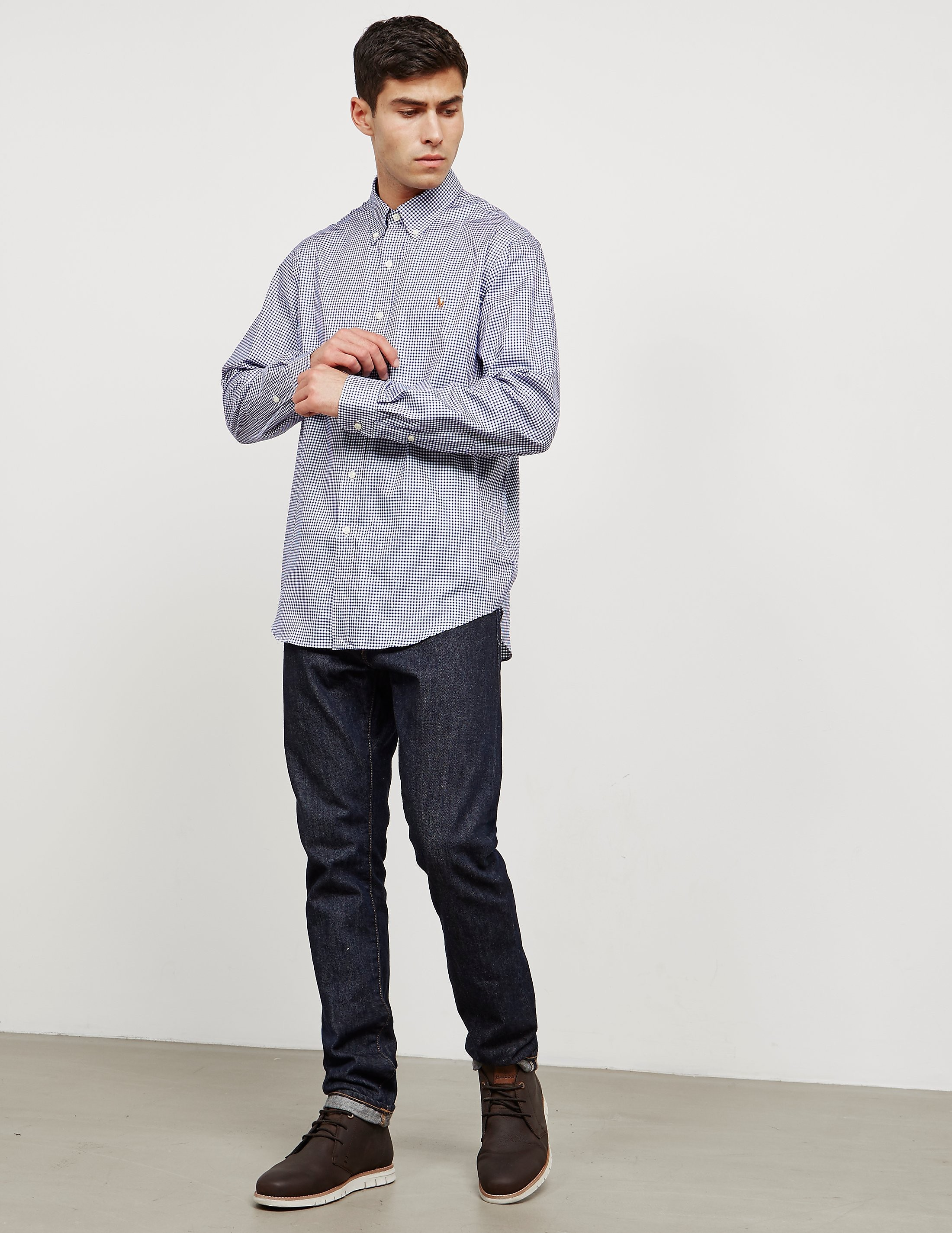 Polo Ralph Lauren Gingham Long Sleeve T-Shirt