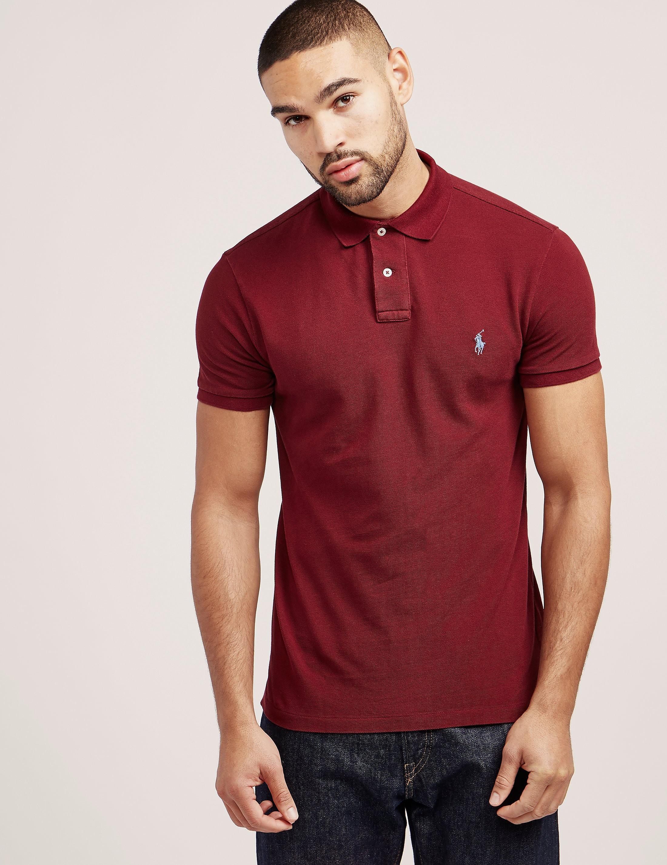 Polo Ralph Lauren Pique Short Sleeve Polo Shirt