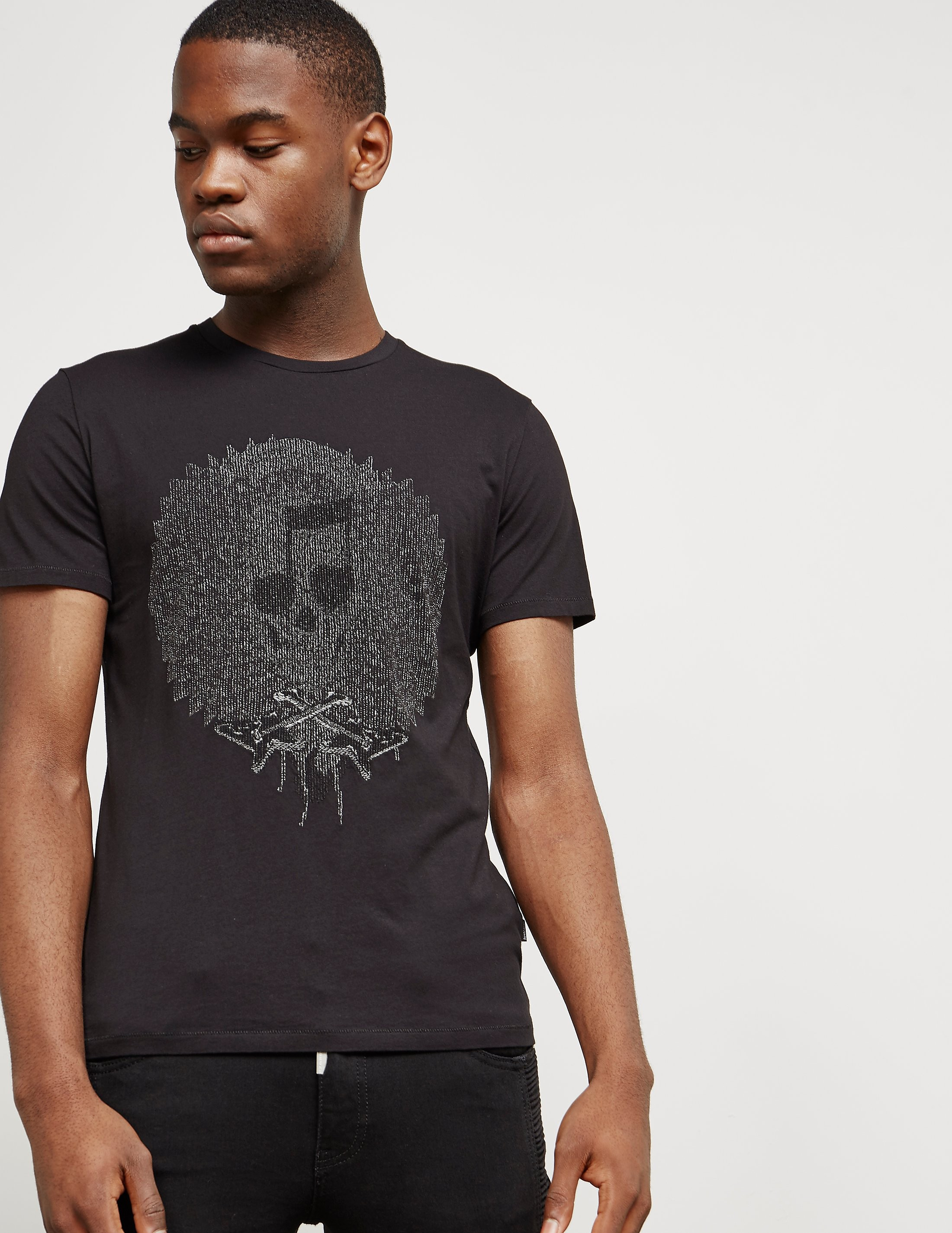 Just Cavalli Jewel Skull Short Sleeve T-Shirt