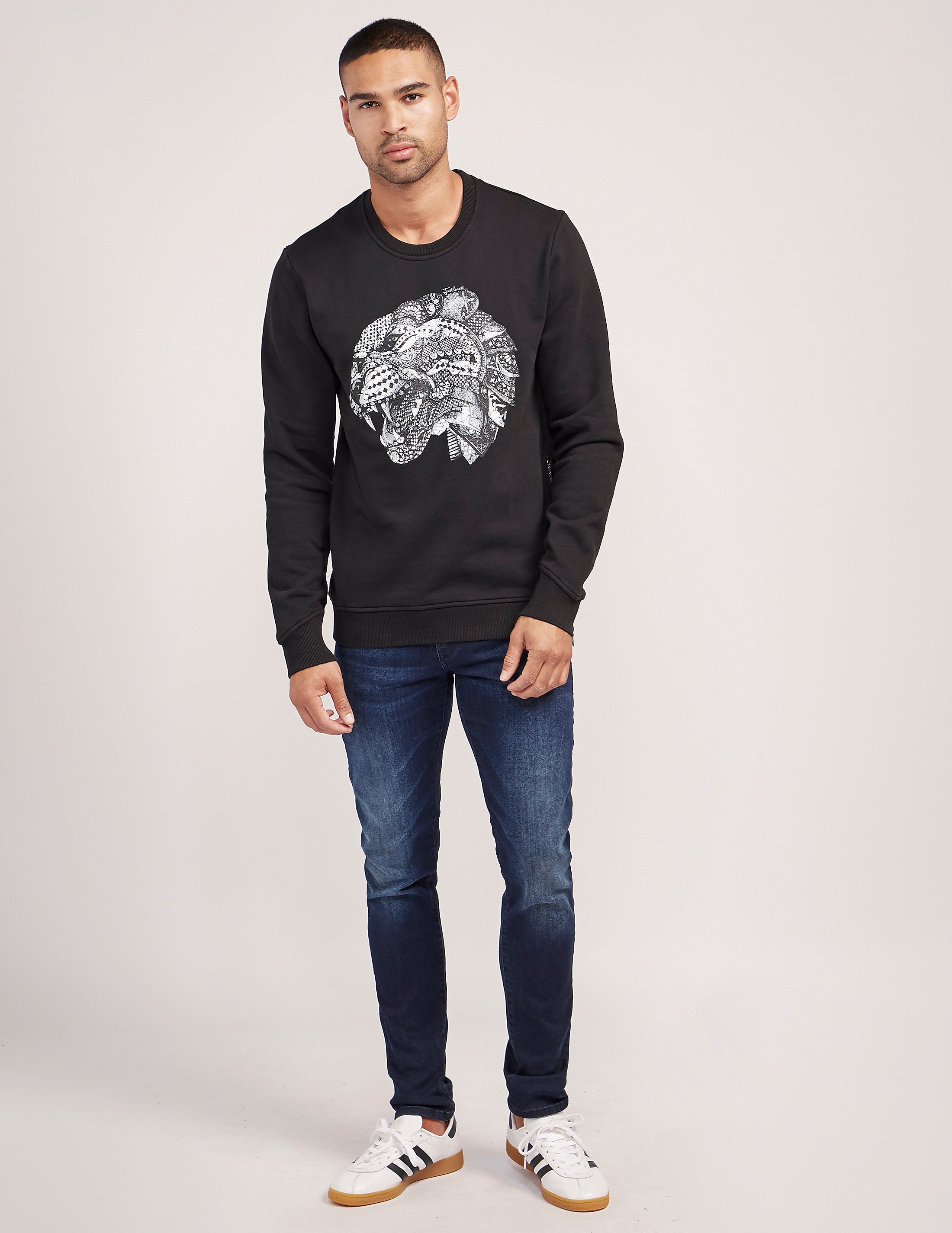 Just Cavalli Tigerhead Sweatshirt
