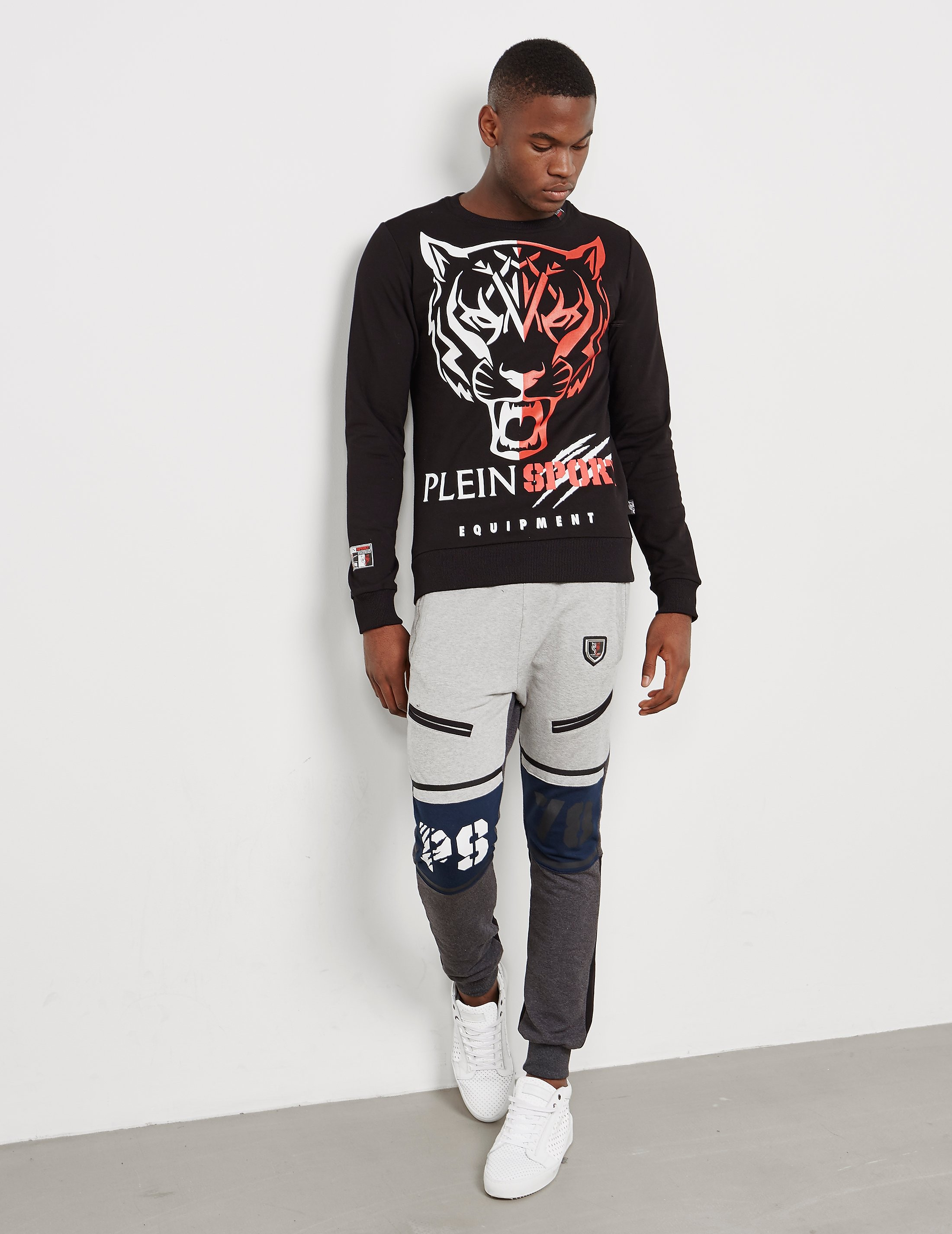 Philipp Plein Sport Split Growl Sweatshirt