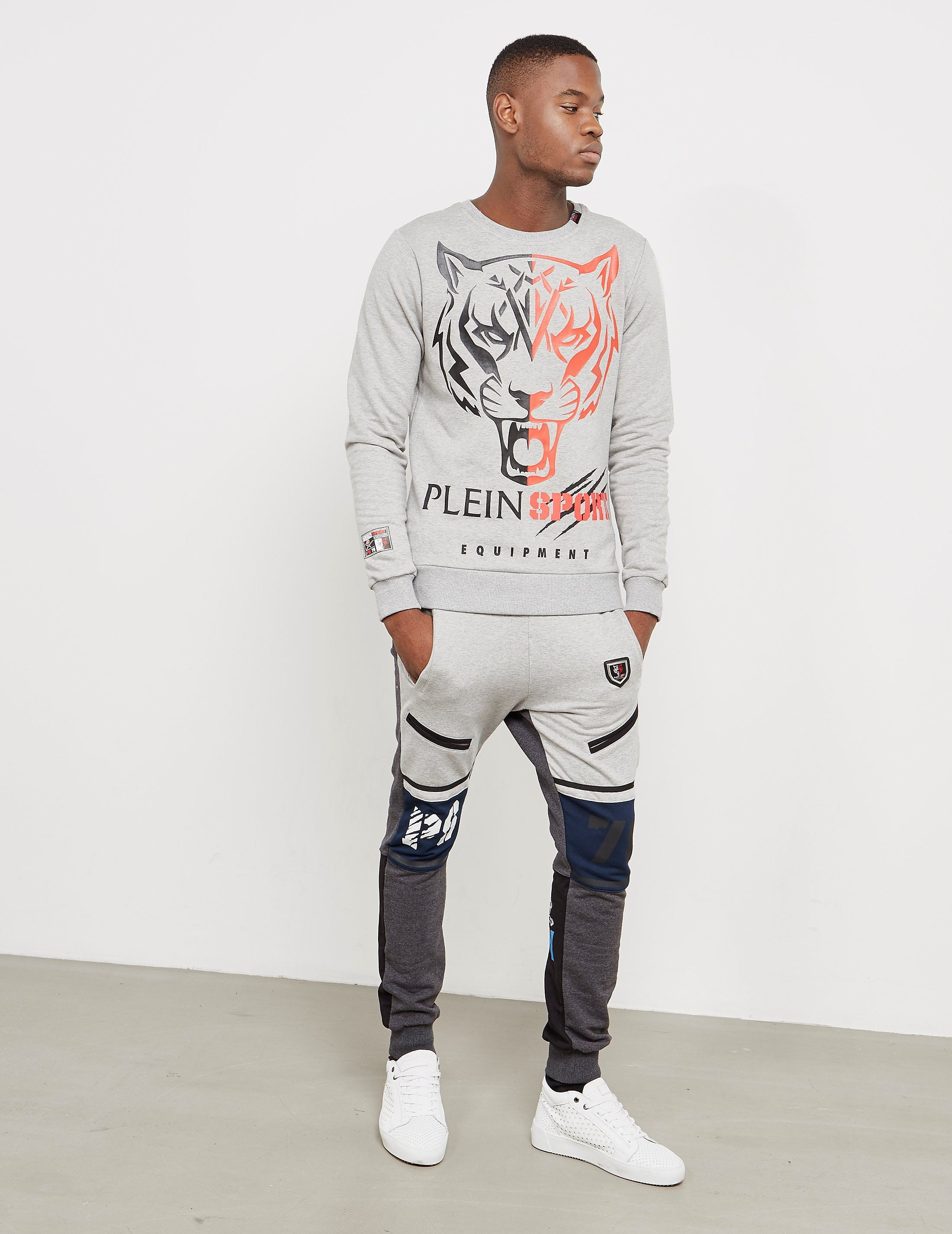 Philipp Plein Sport Panel Cuffed Track Pants