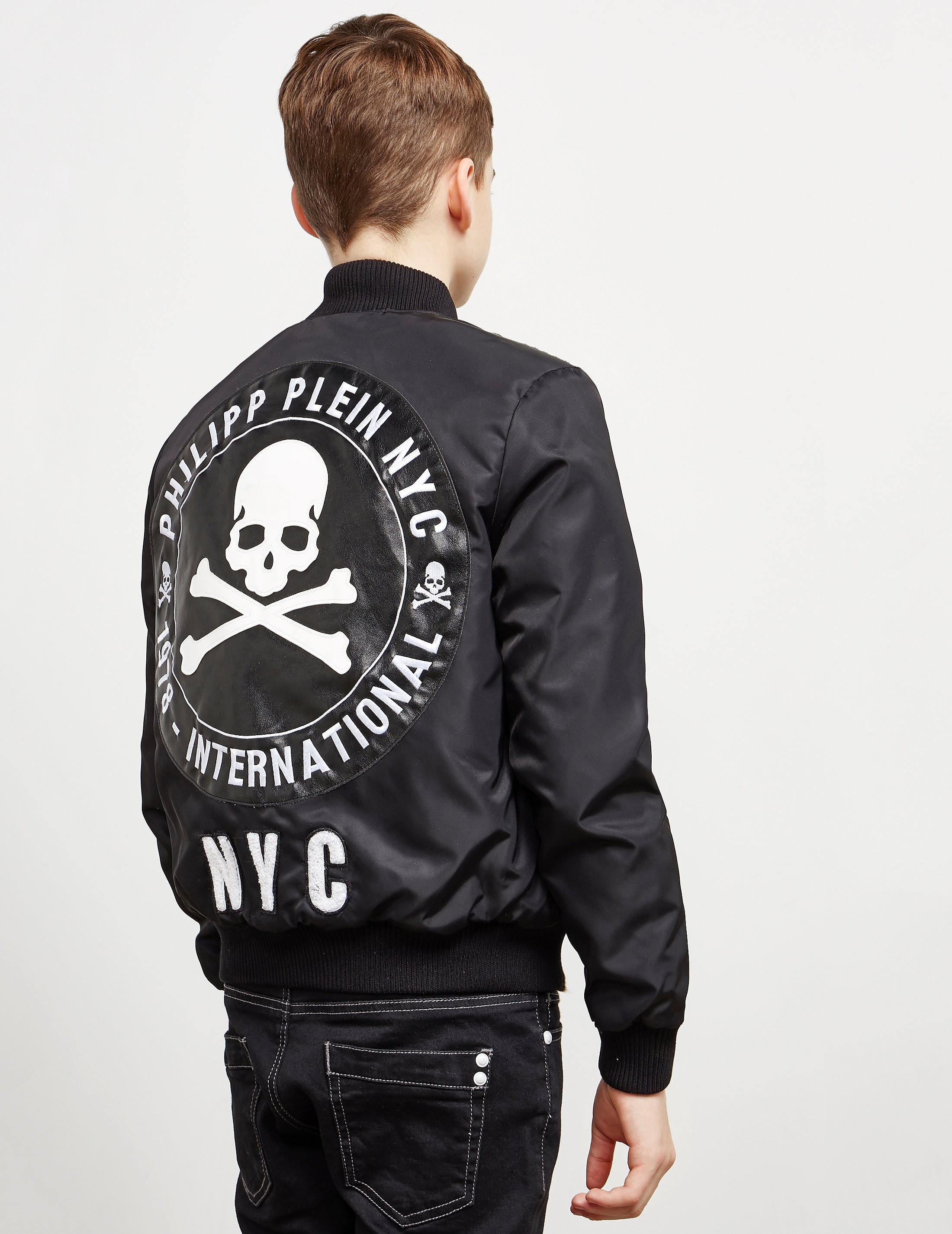 Philipp Plein Sport Skull Bomber Jacket